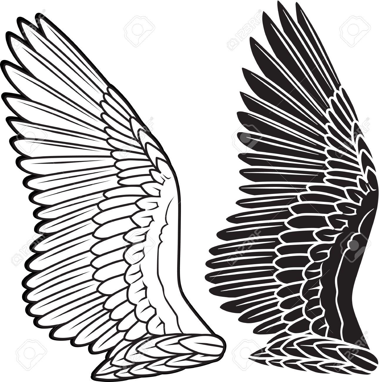 Dove Tattoo Stencil Dove wings  tattoo  stencil