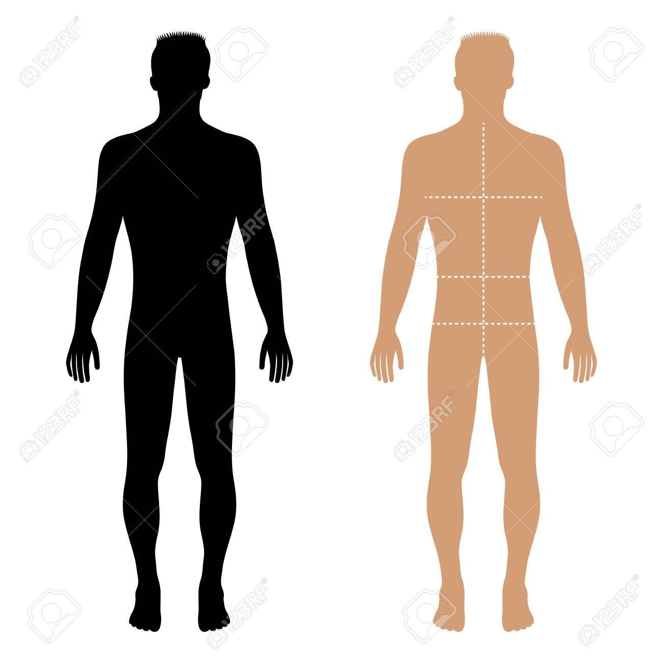 Charmant Körper Zeichnungsvorlage Fotos - Beispiel Wiederaufnahme ...