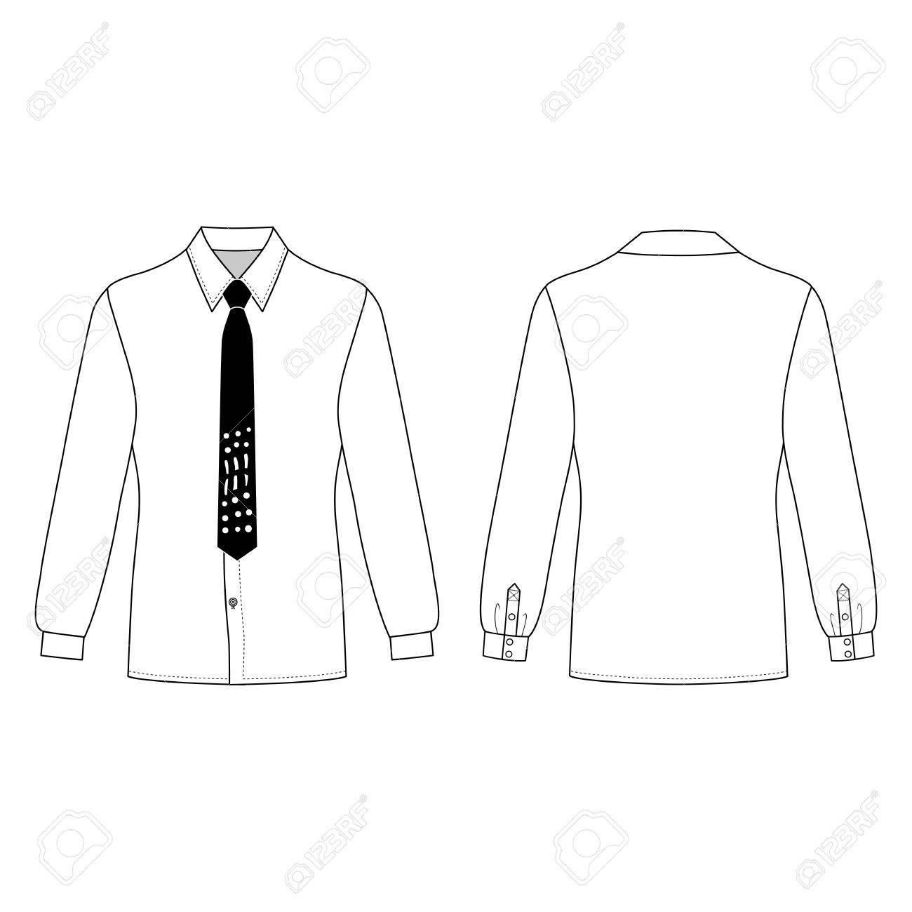 Long Sleeve Shirt With Collar Template | Lauren Goss