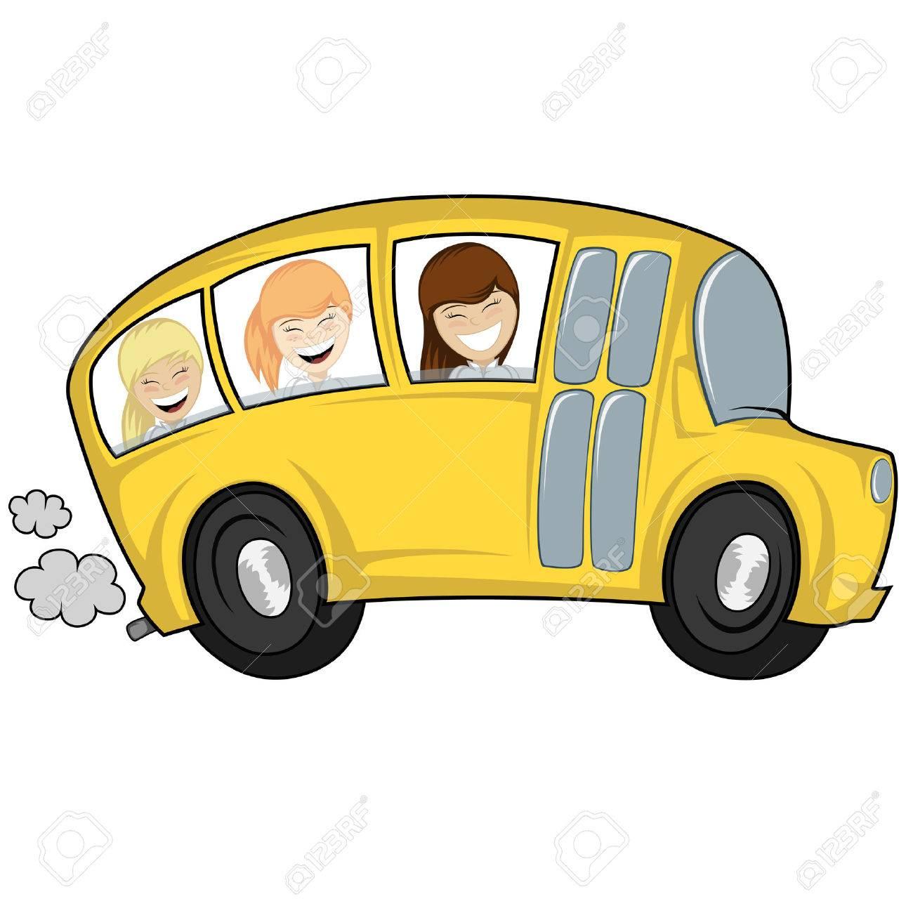"""Résultat de recherche d'images pour """"clipart sortie bus filles"""""""