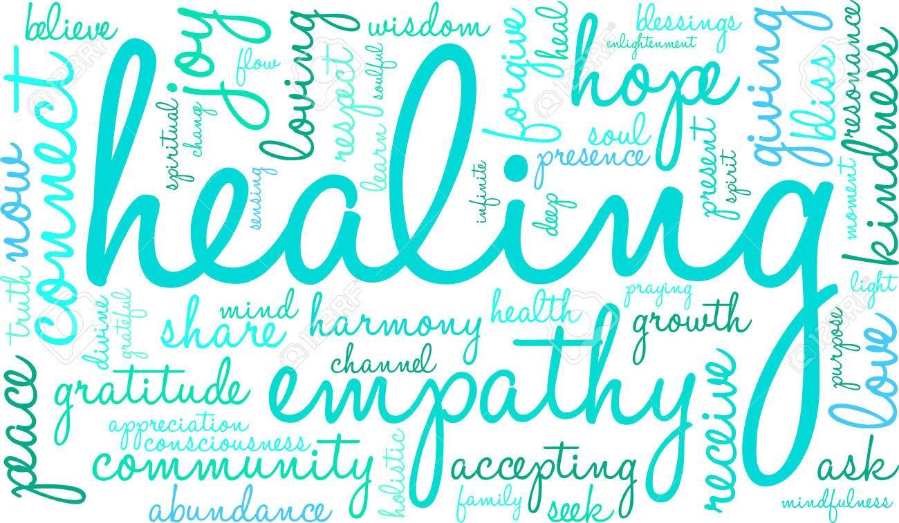 Healing Word Cloud - 70321976