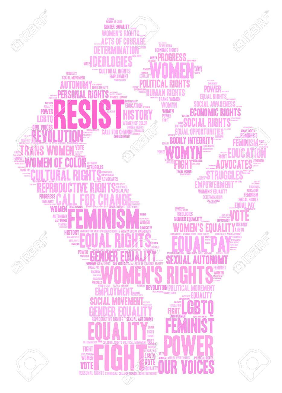 Womens rights resist word cloud on a white background royalty womens rights resist word cloud on a white background stock vector 71667361 biocorpaavc Images