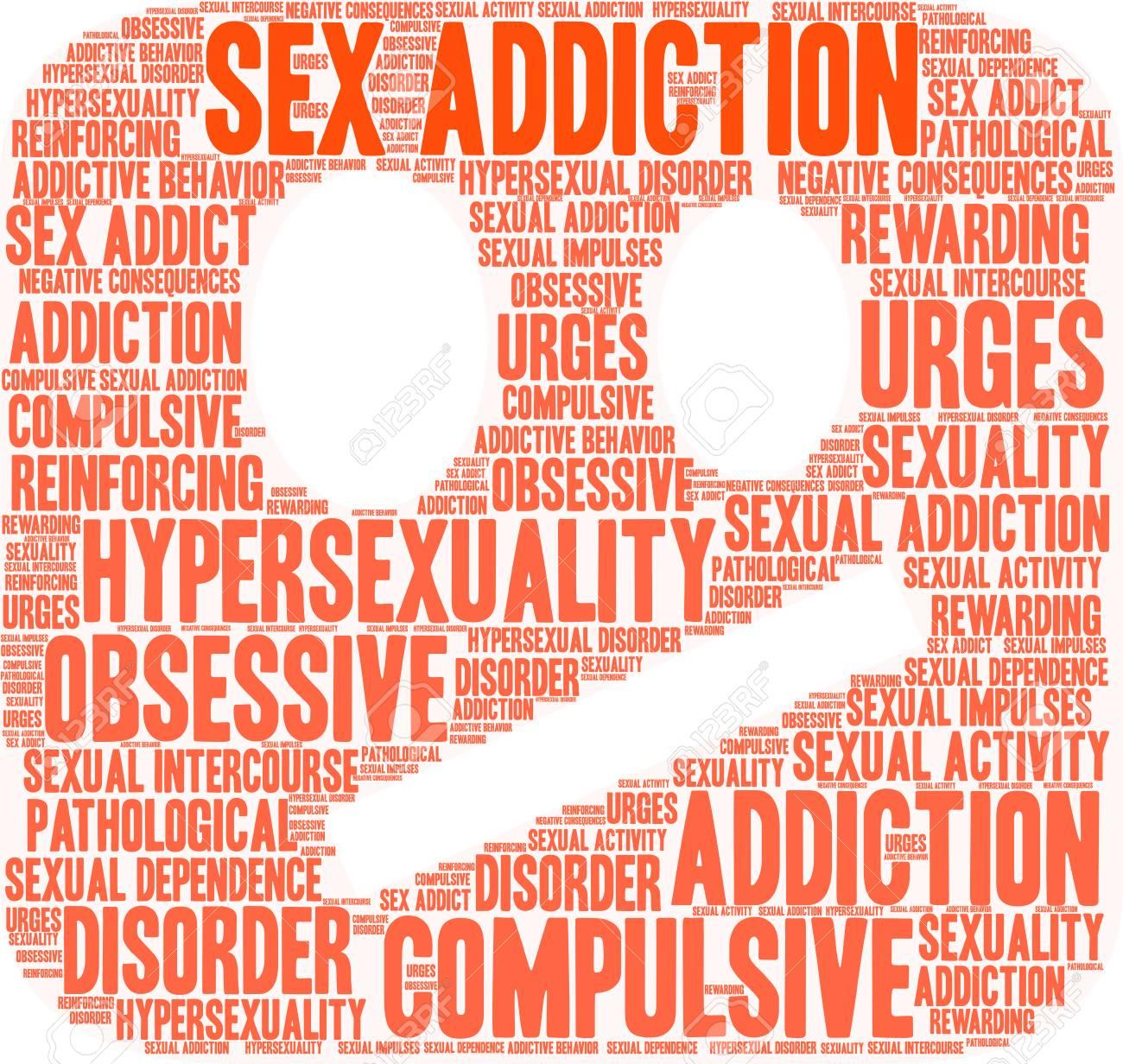 Sex addict word