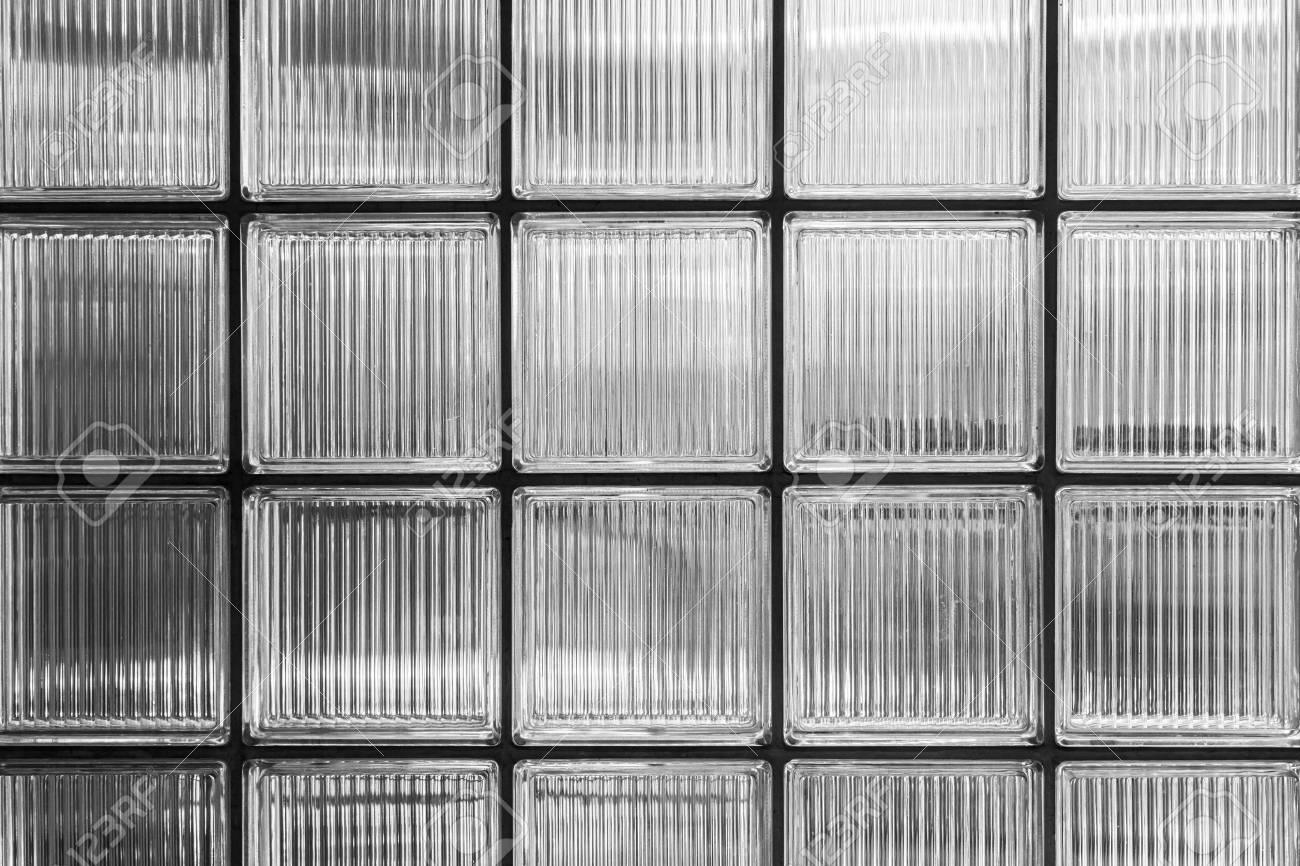 Wand Aus Glasbausteinen Für Hintergründe Lizenzfreie Fotos, Bilder ...