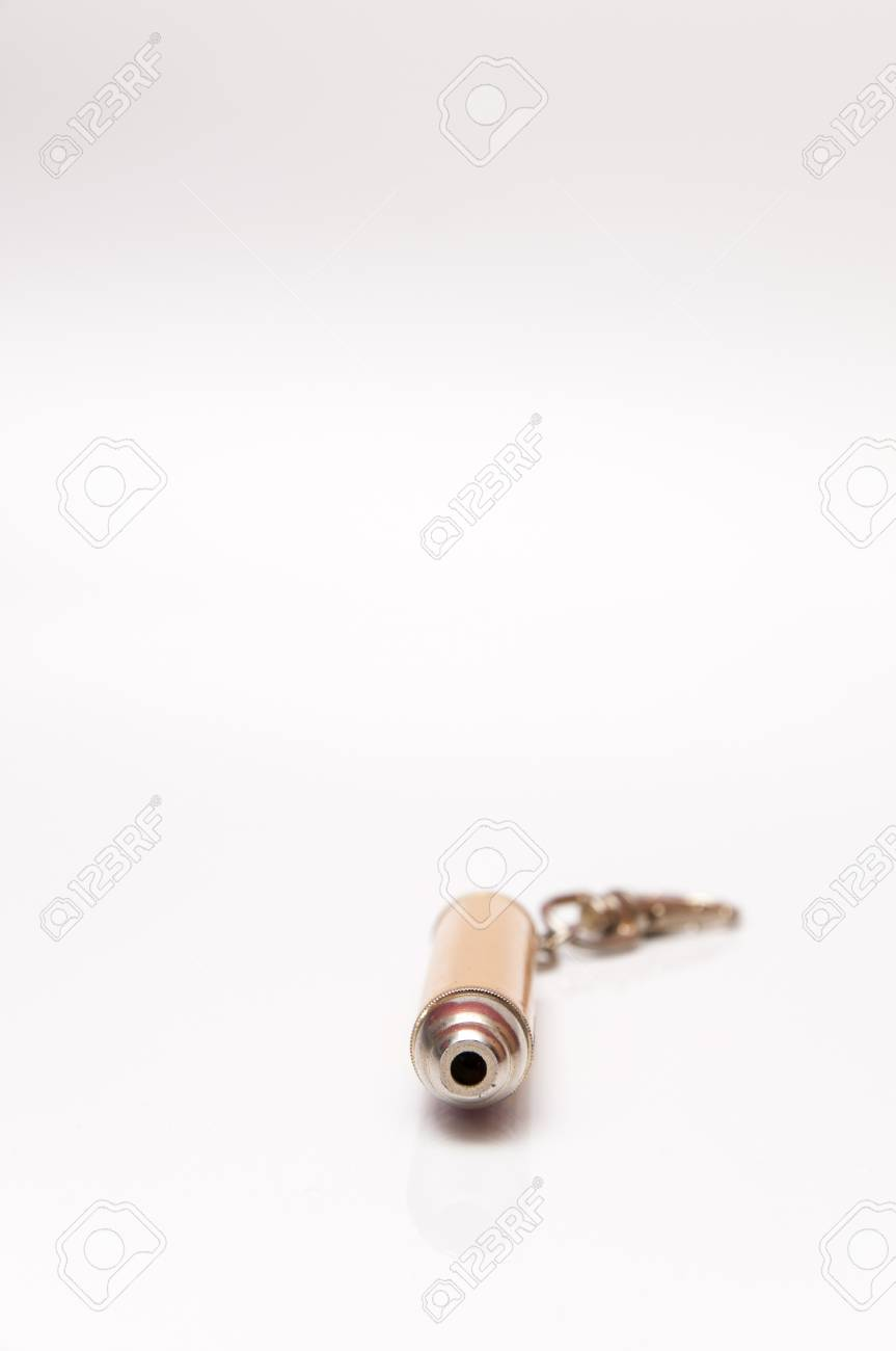 laser keychain golden to light red Stock Photo - 17226682