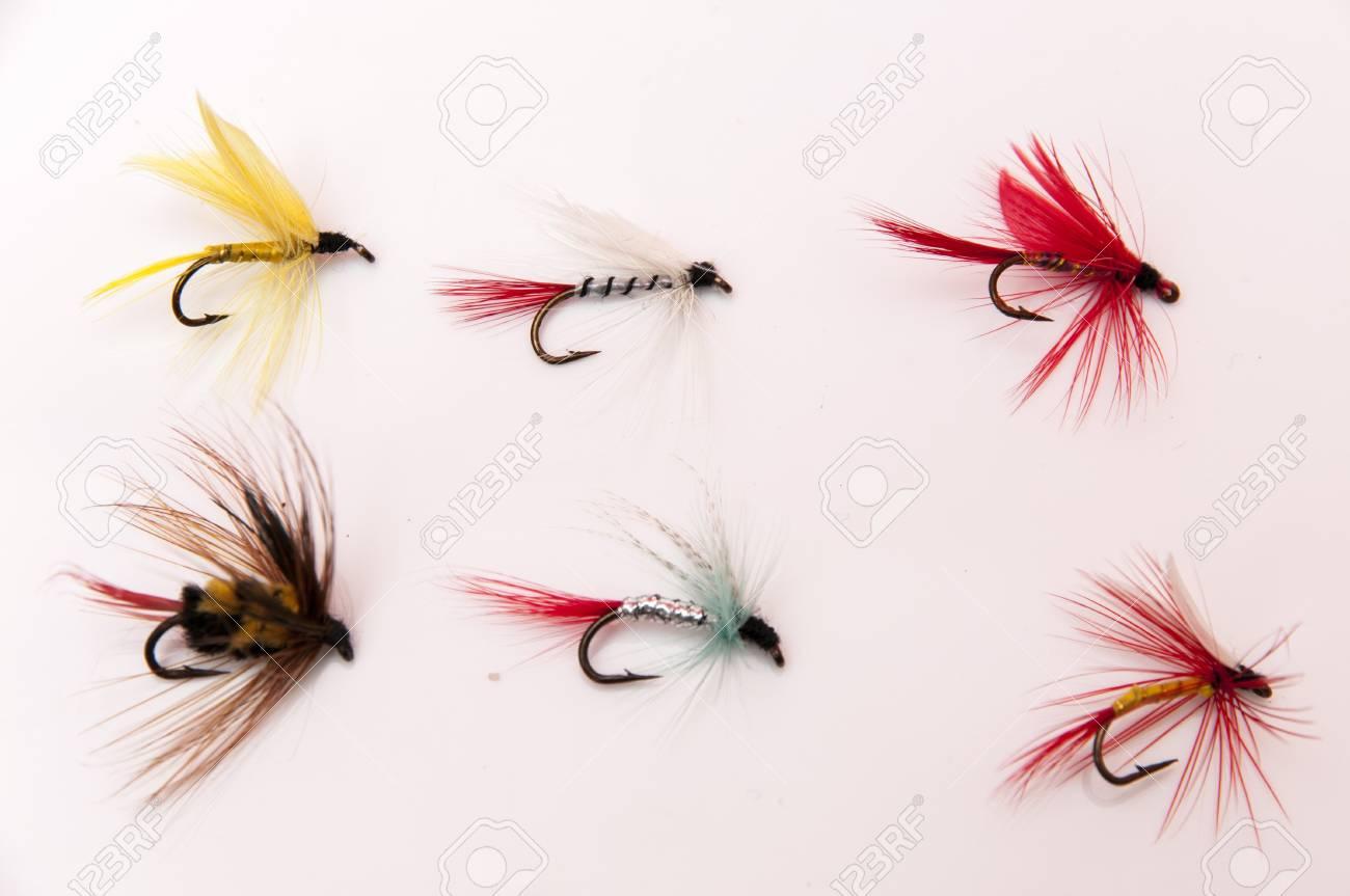 fishing flies for fishing big fish Stock Photo - 17226842