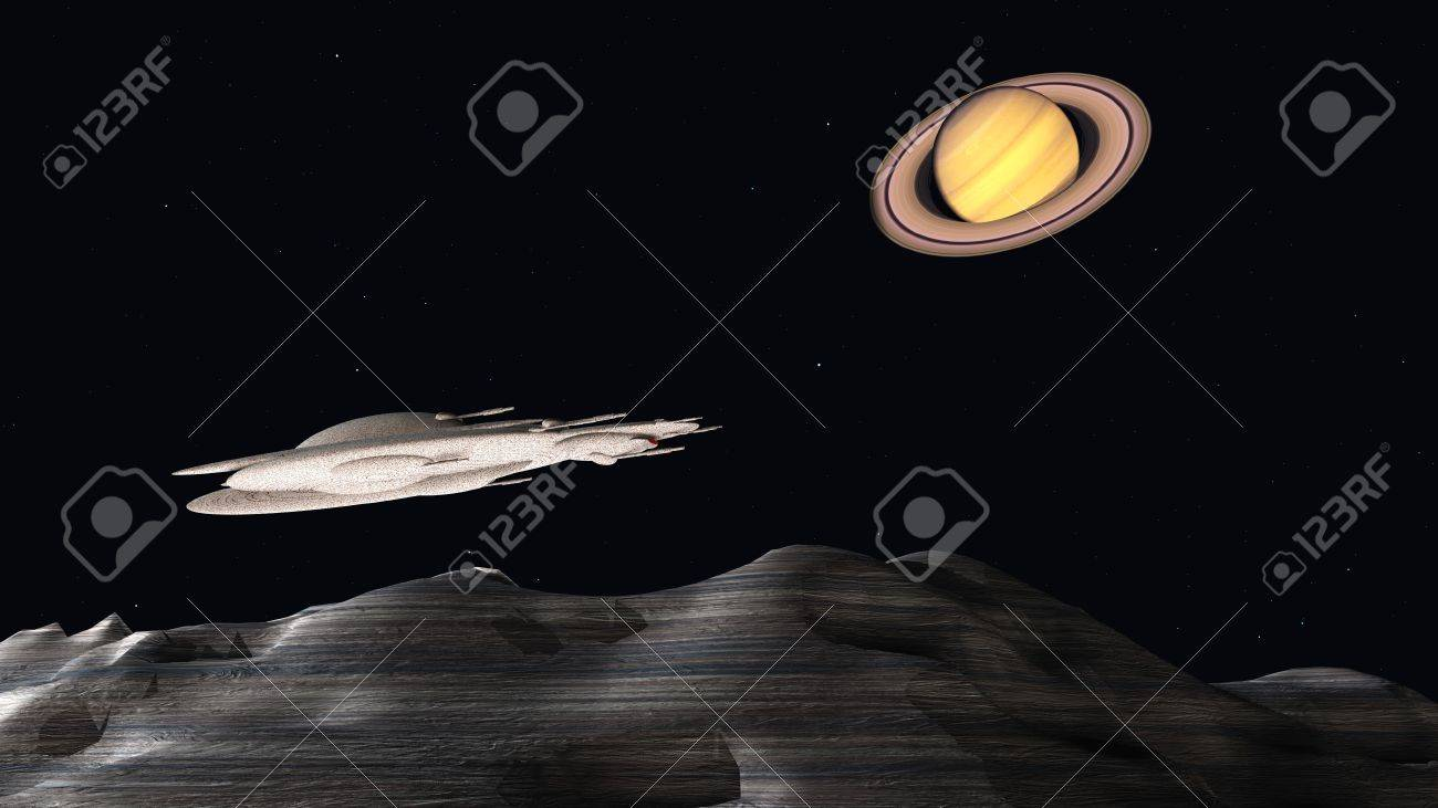 space colonization Stock Photo - 11979610
