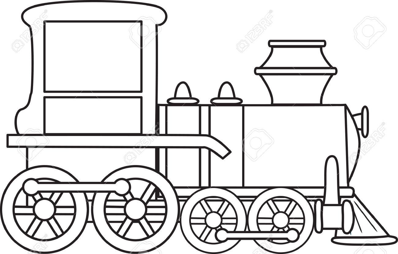 Dibujos coloreados trenes para imprimirImagenes y dibujos para