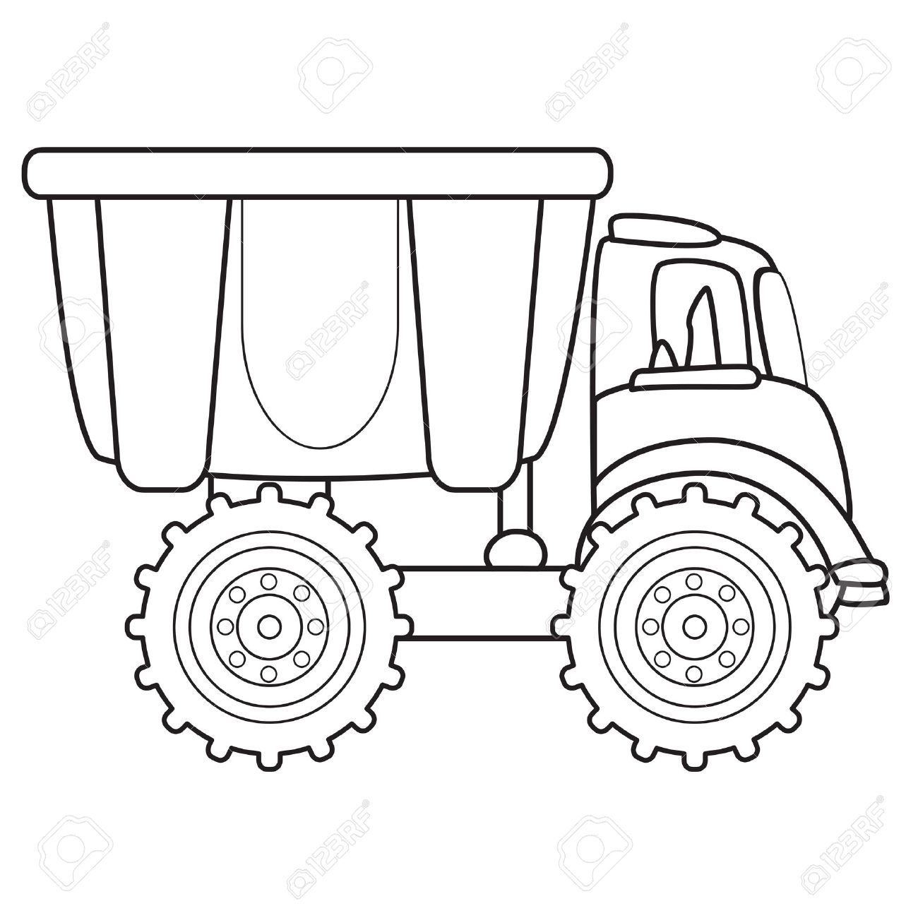 cartoon dump truck stock photos royalty free cartoon dump truck