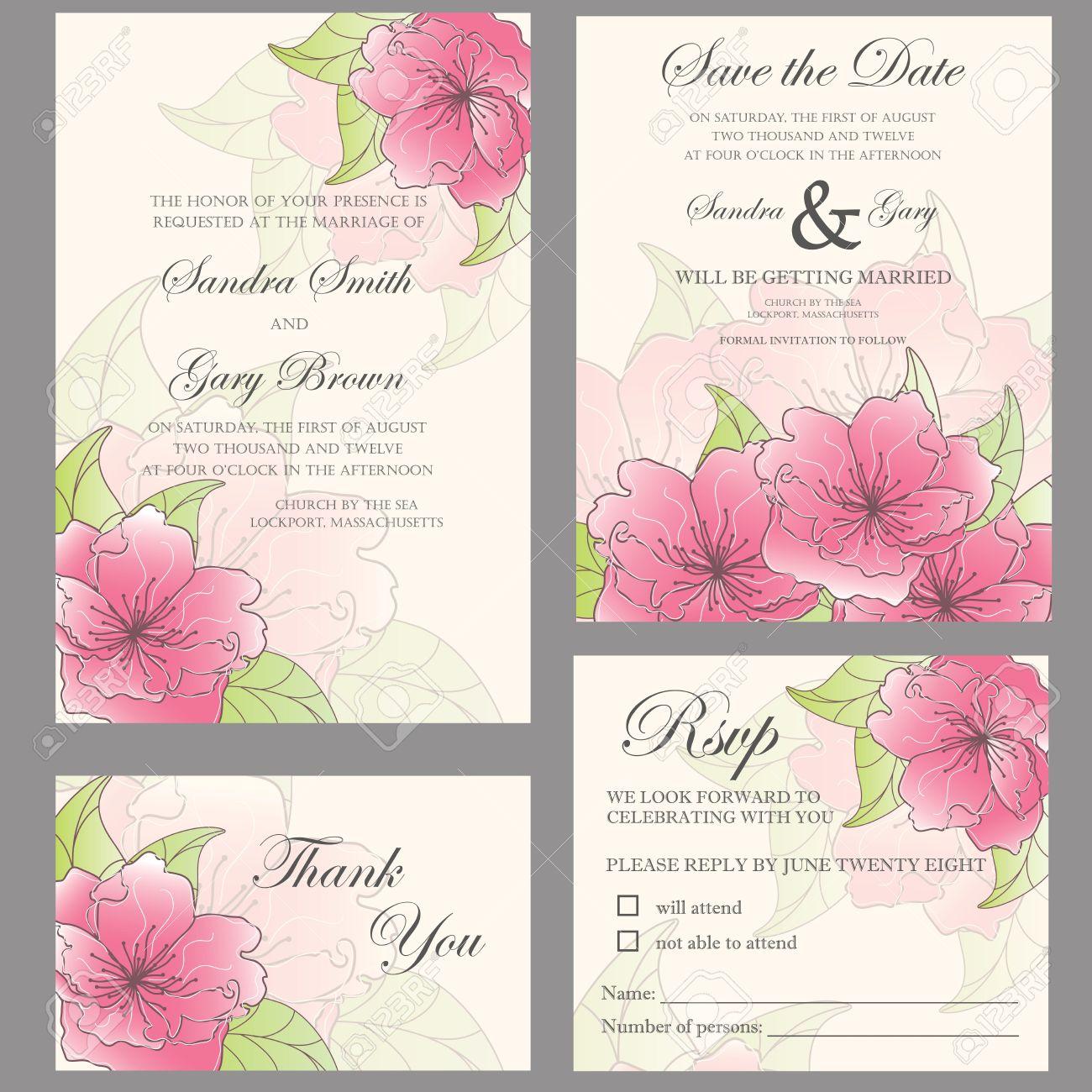 hochzeit einladung gesetzt hochzeitseinladung, dankeschön-karte, Einladung