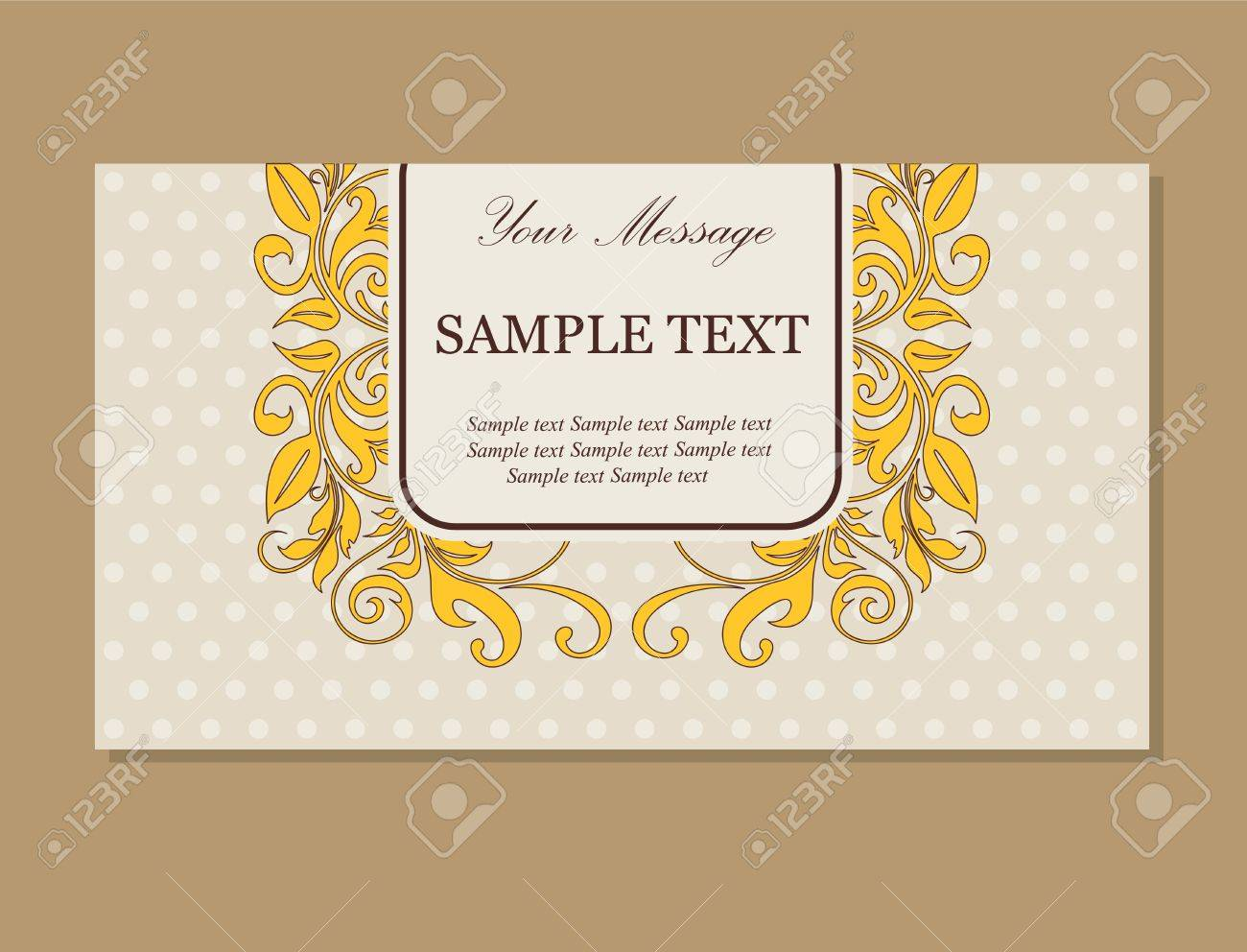 Business Card Invitation Gallery - Free Business Cards