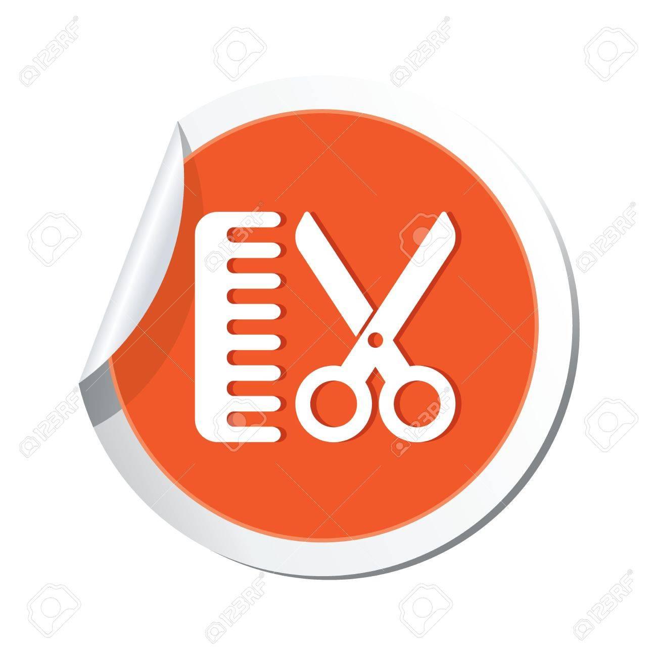 Hair salon icon  Vector illustration Stock Vector - 23471844