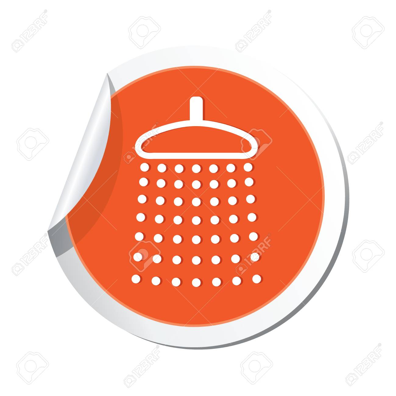 Shower icon  Vector illustration Stock Vector - 23824471
