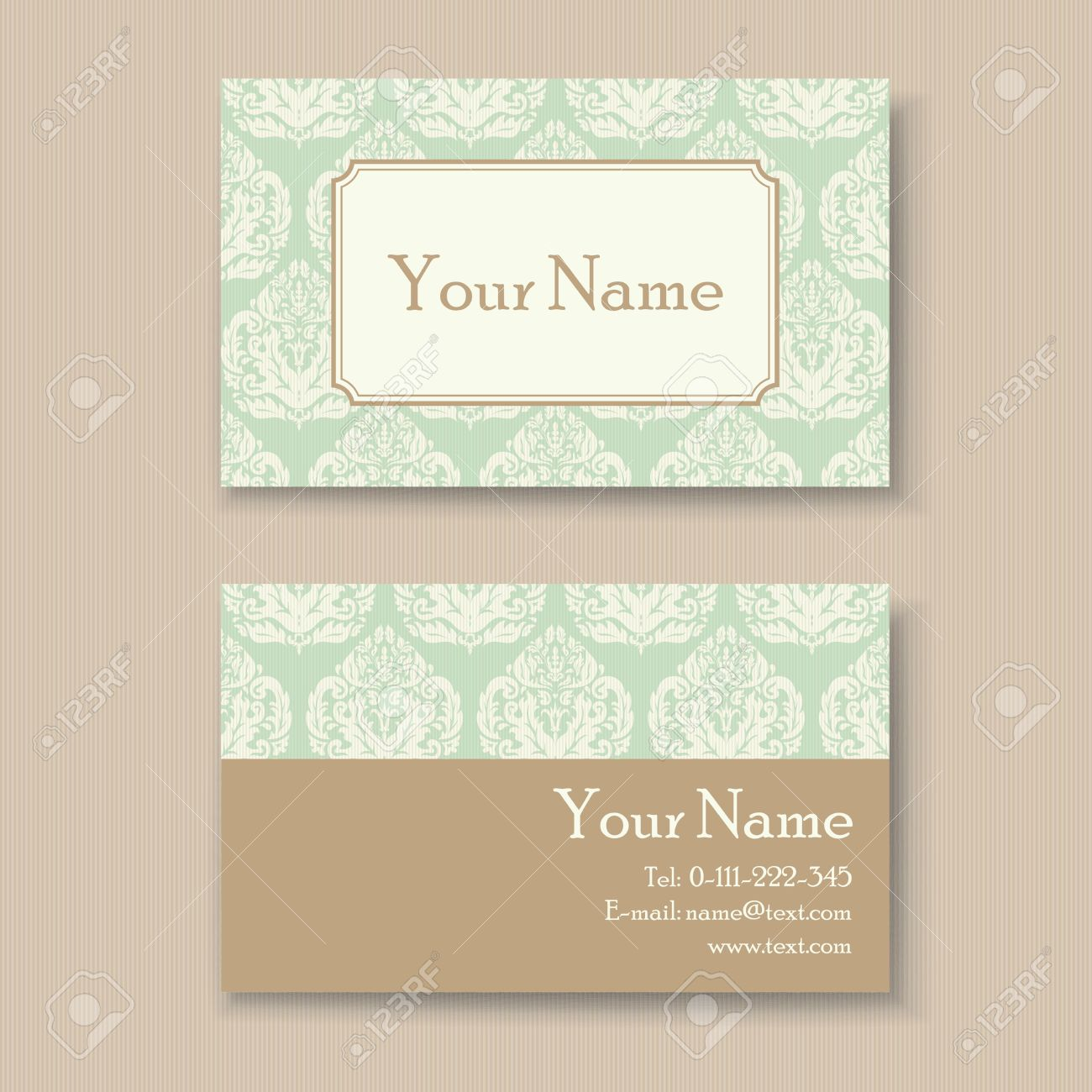 Stylish vintage business card template royalty free cliparts stylish vintage business card template stock vector 30519765 flashek Choice Image