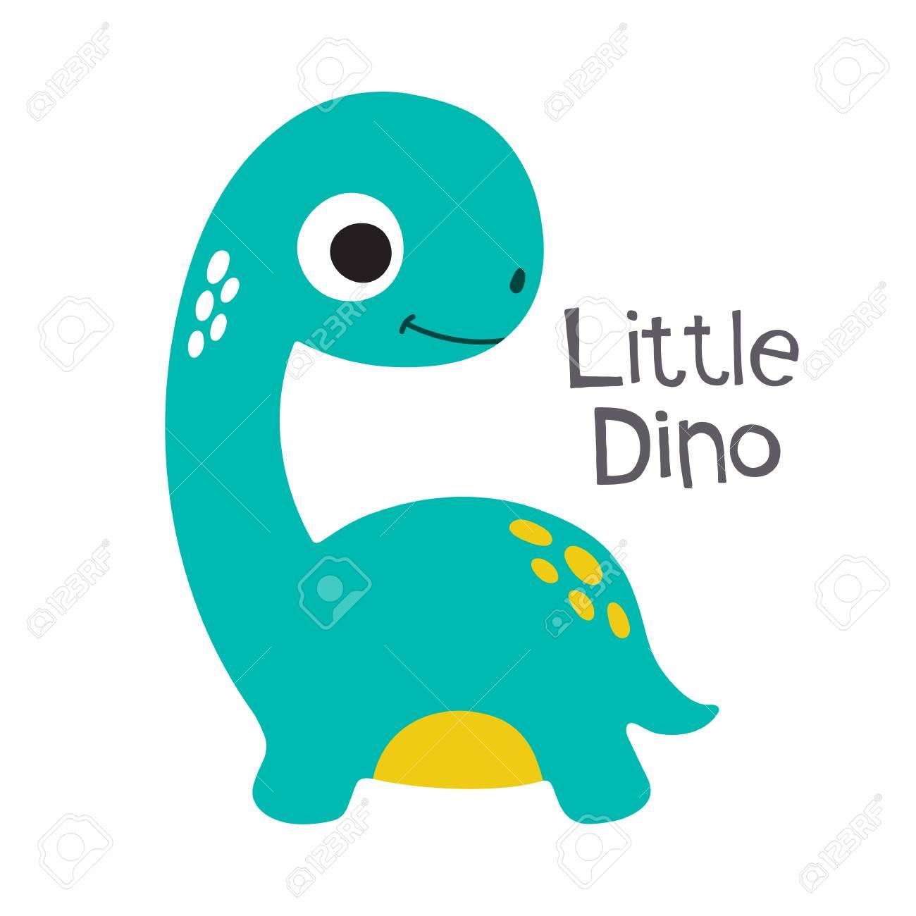 Image of: Rex Cute Cartoon Dino Vector Illustration Little Dino Stock Vector 87562907 123rfcom Cute Cartoon Dino Vector Illustration Little Dino Royalty Free