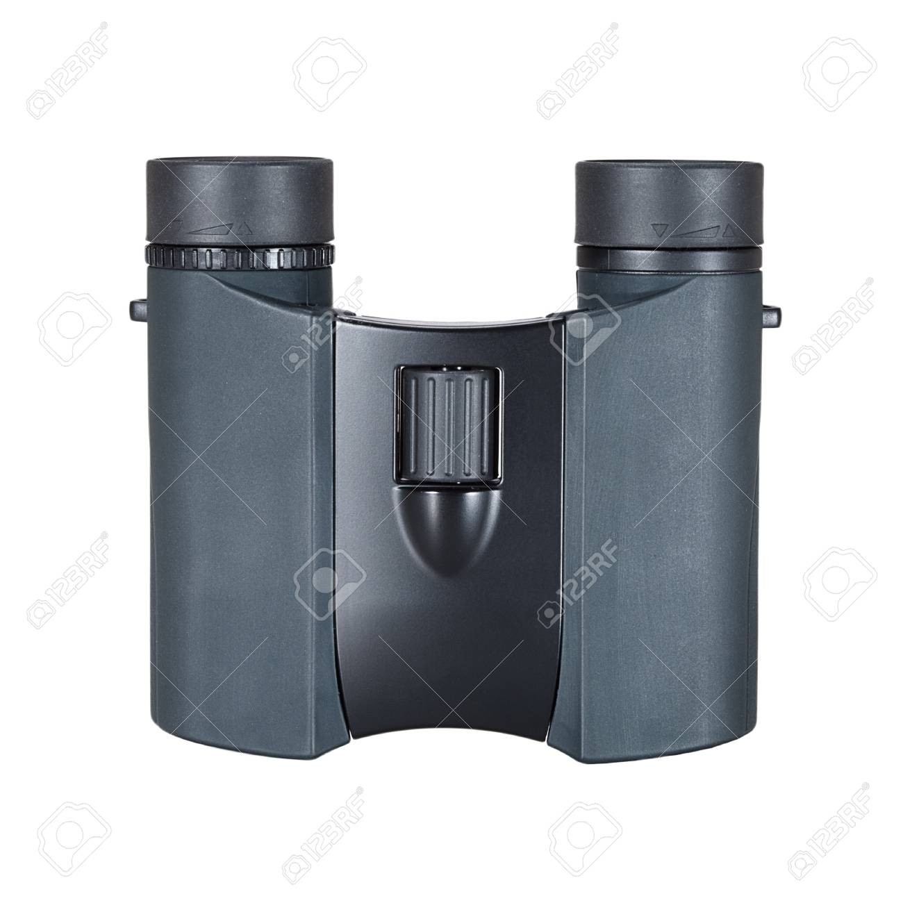 Top view of binoculars isolated on white Stock Photo - 10066246