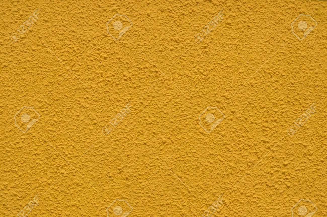 Background Of The Texture Wall Dark Yellow Colour Stock Photo ...