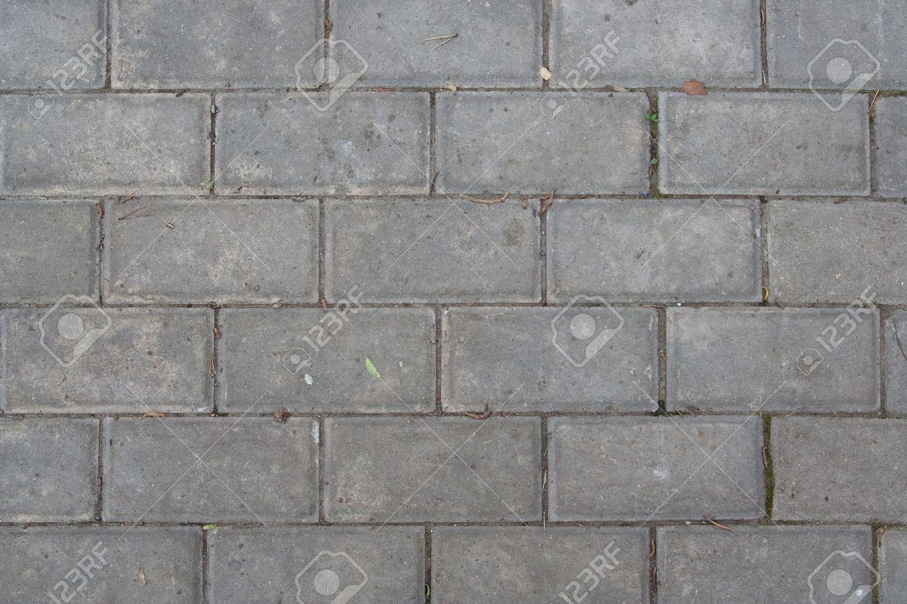 Fliesen textur grau  Stadt Bürgersteig Gepflastert Graue Steine Fliesen. Textur ...