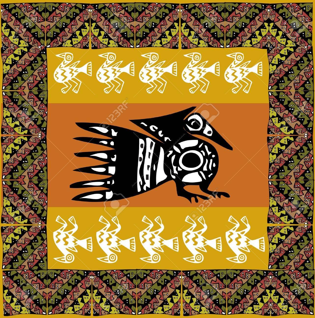 Ancient pattern. Vector illustration Stock Vector - 10892654