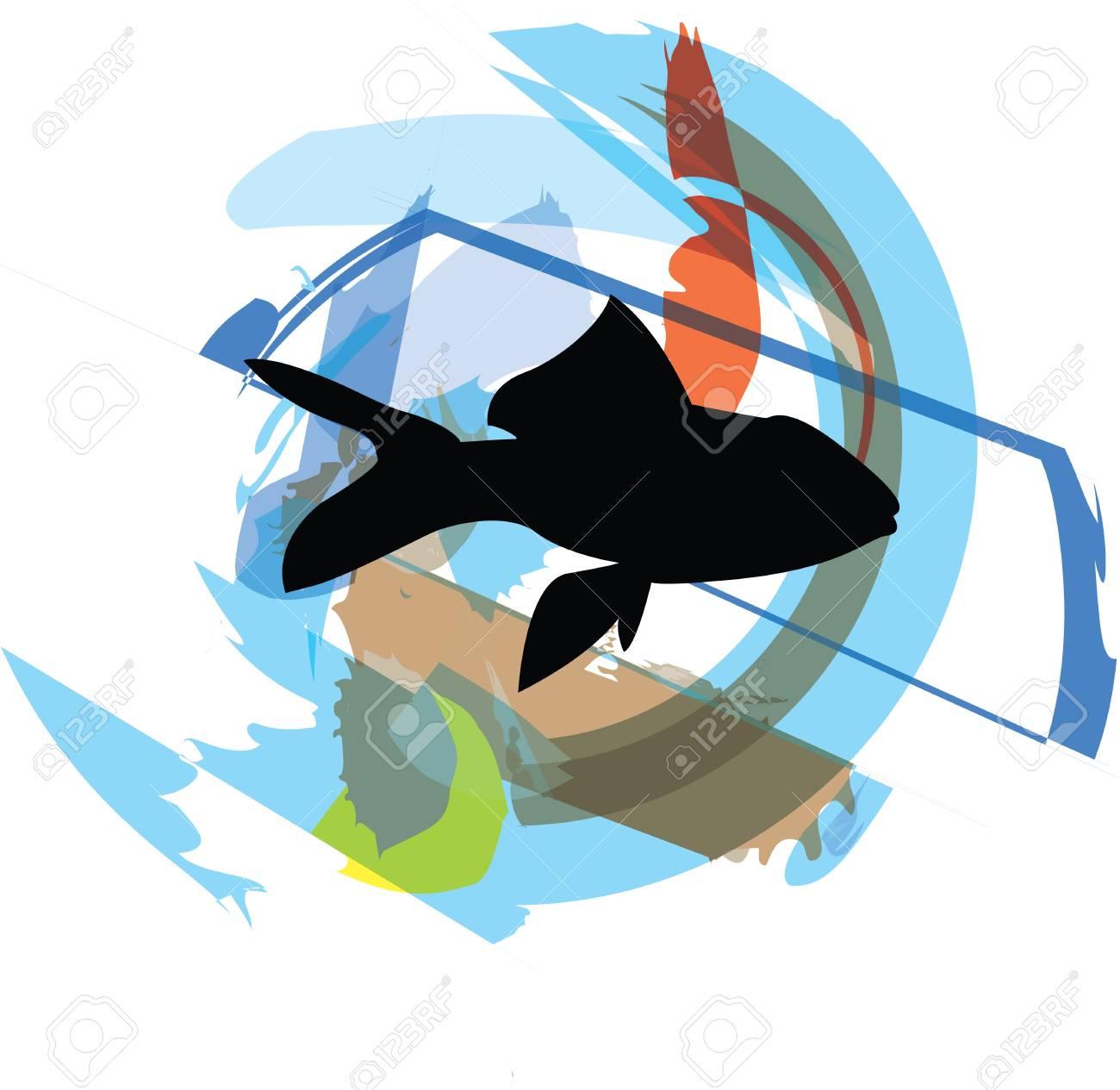 Fish illustration Stock Vector - 10892518