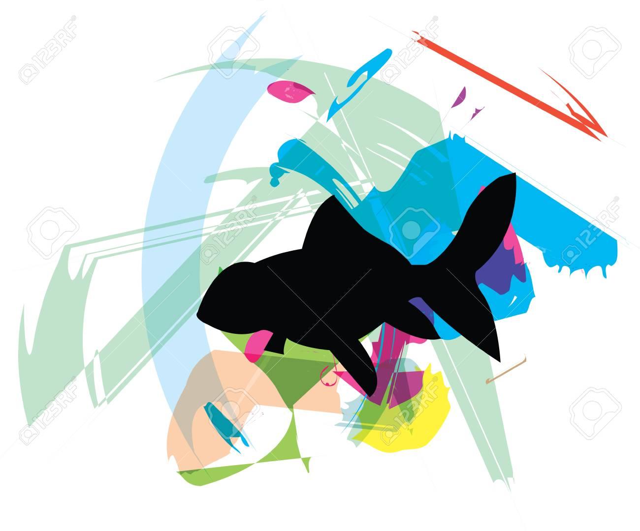 Fish illustration Stock Vector - 10892525