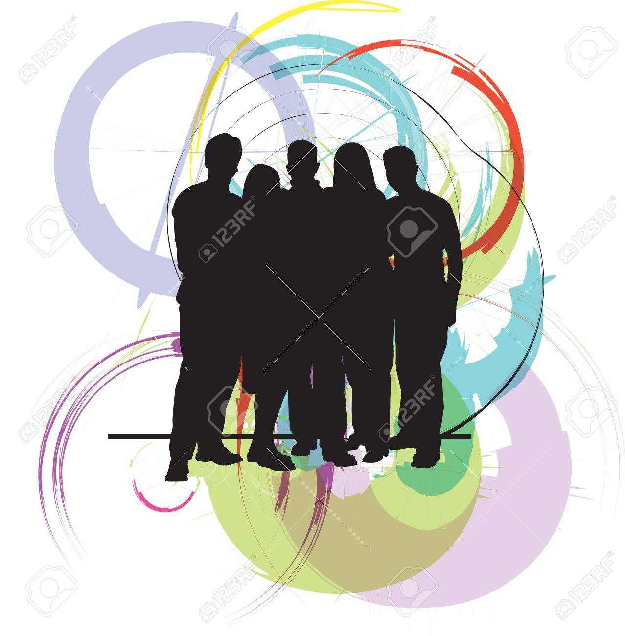 Professional business team Stock Vector - 10937030