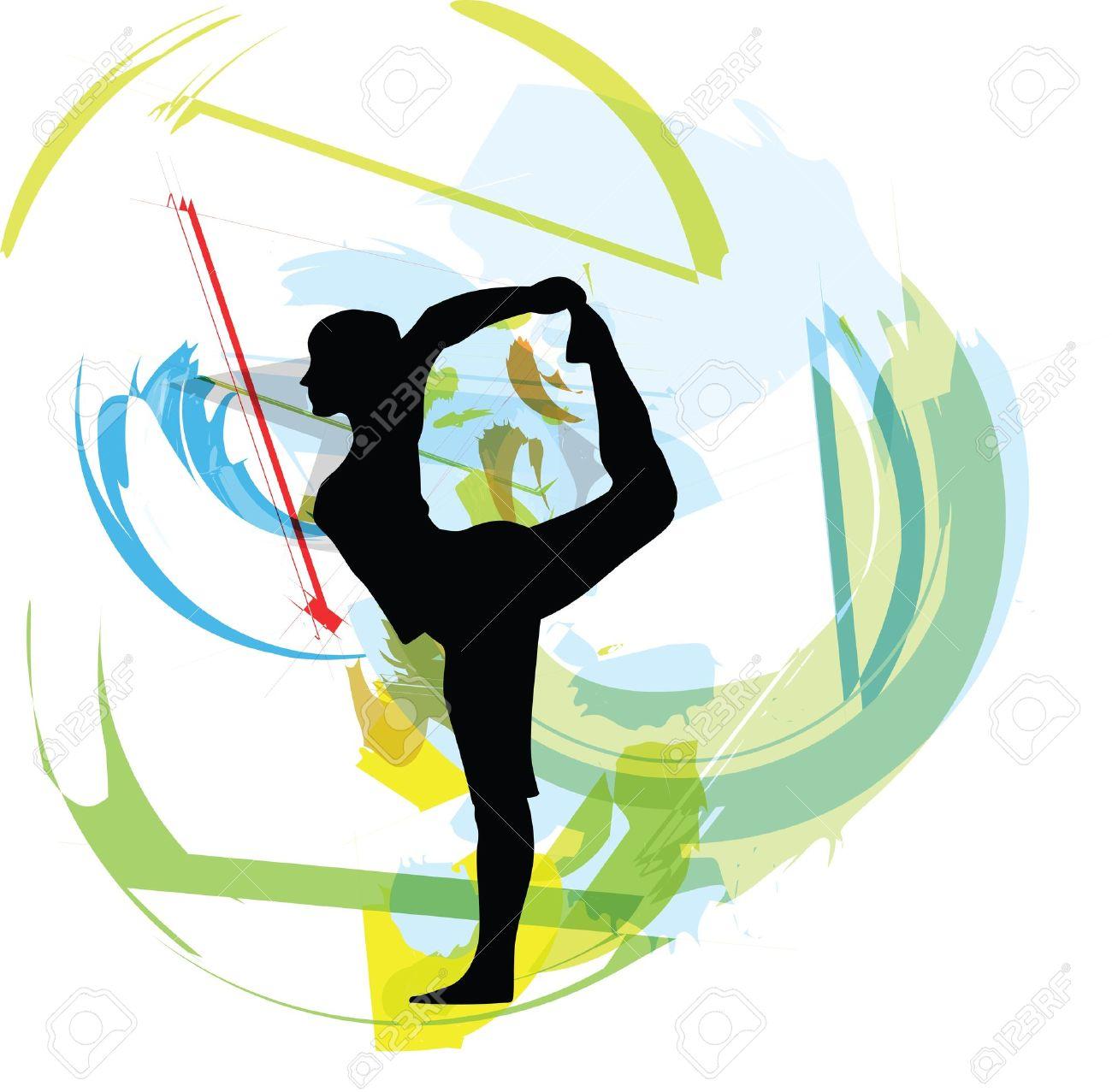 Yoga illustration Stock Vector - 11000061