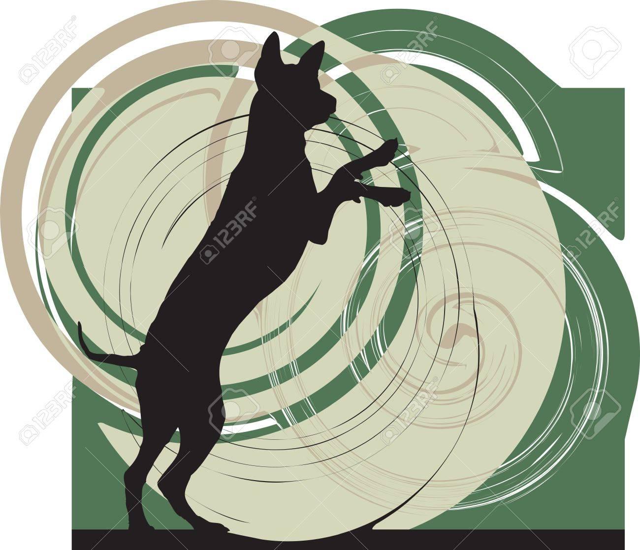 Dog, vector illustration Stock Vector - 10999270