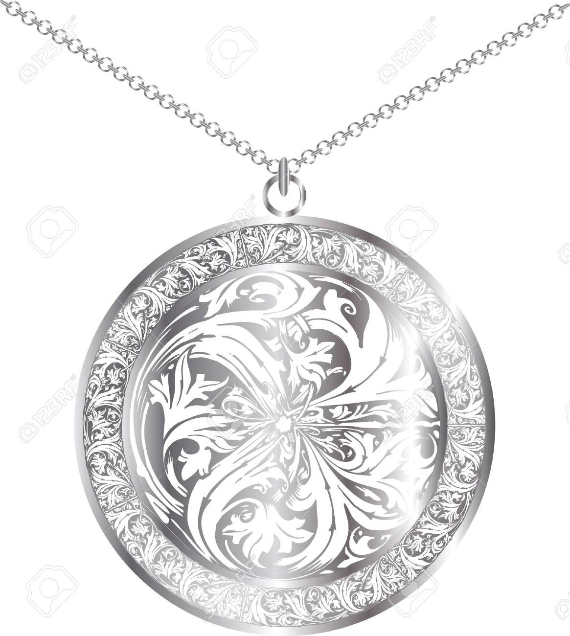 Medallion illustration Stock Vector - 11001088