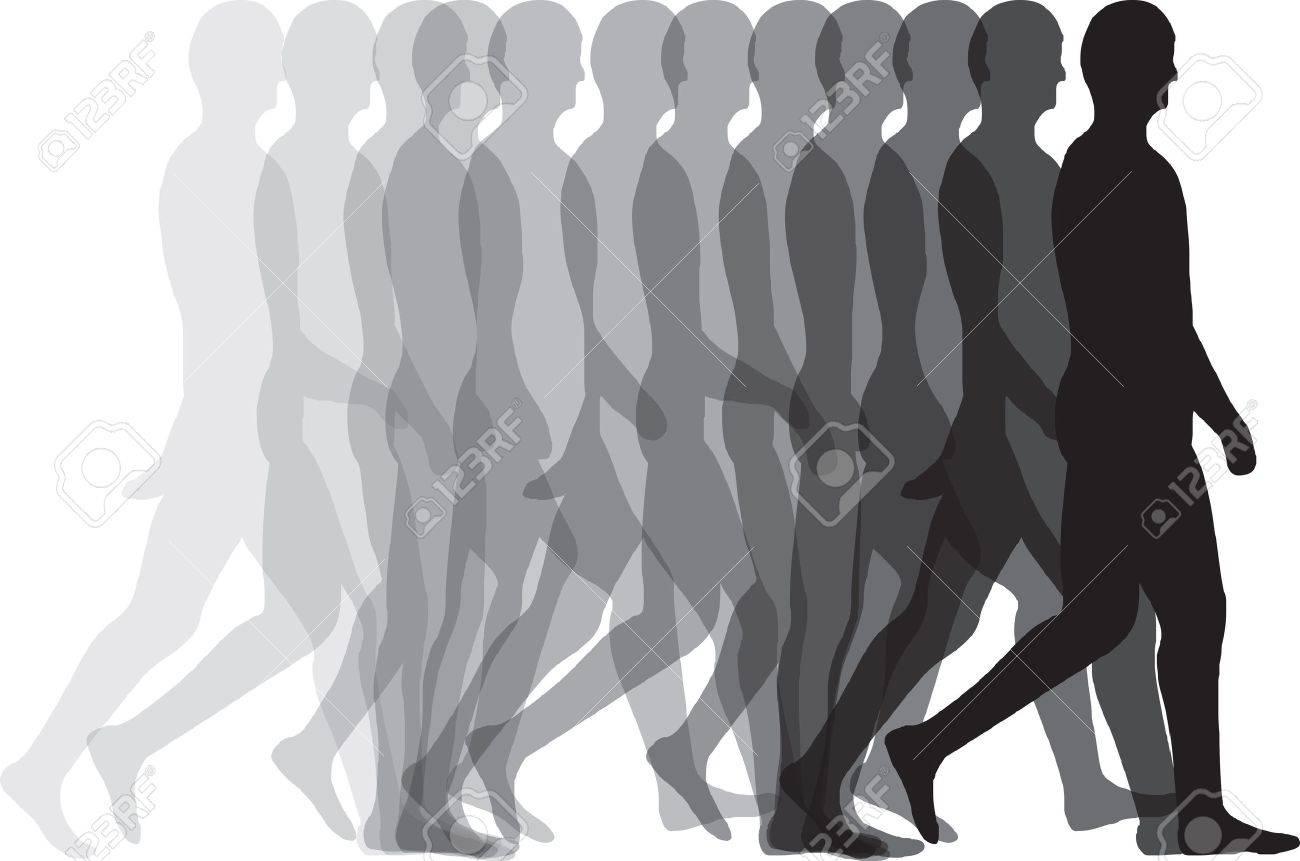 Man walking - 11001042