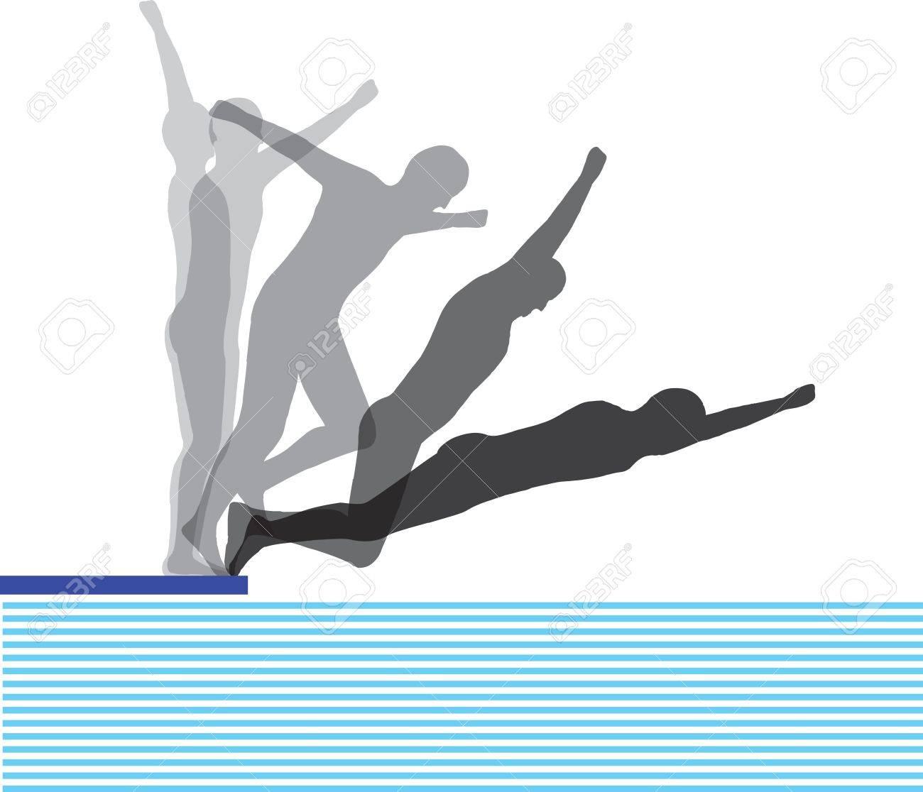 Jumping man Stock Vector - 11062338