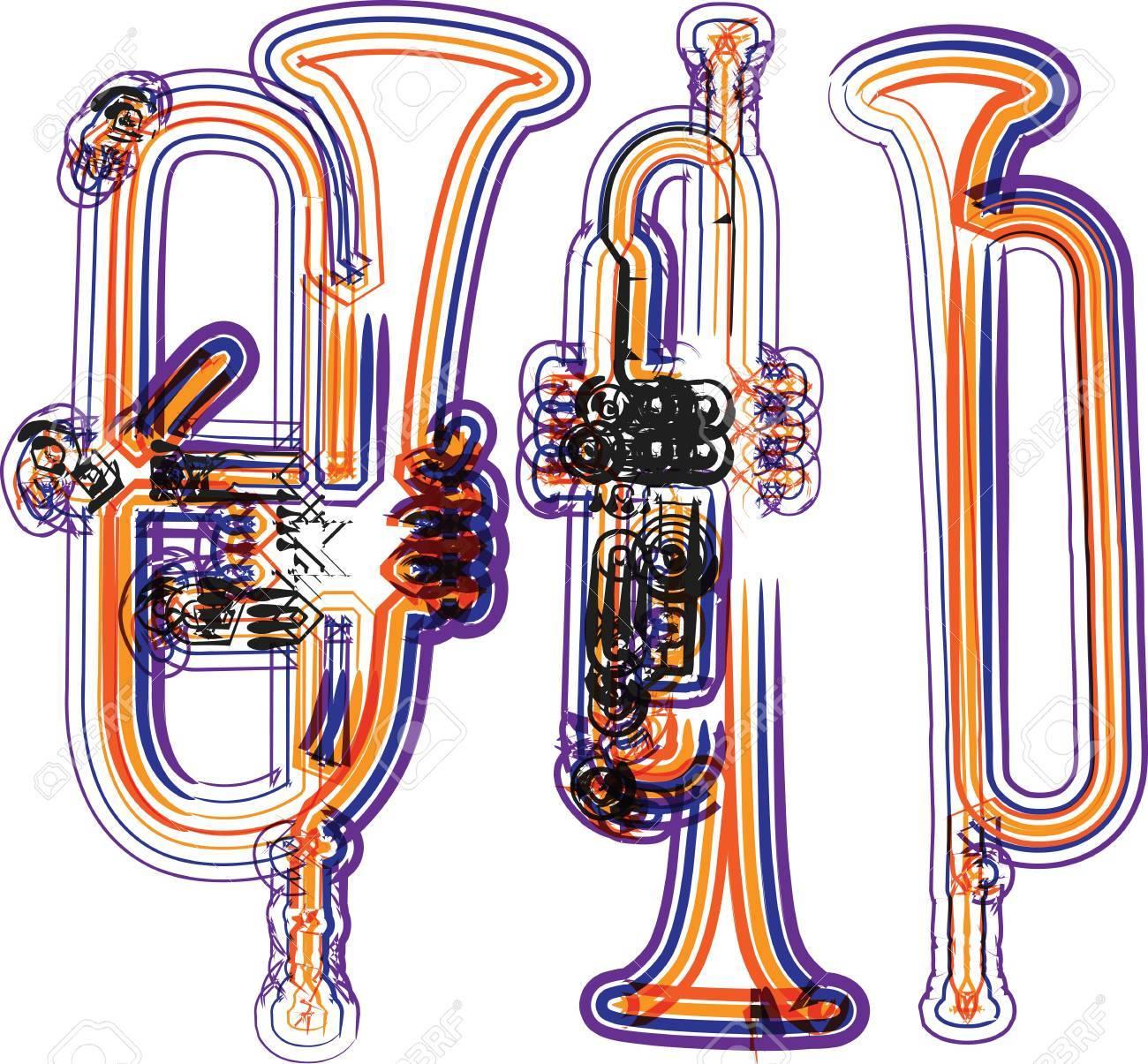 music instrument vector illustration Stock Vector - 11064299
