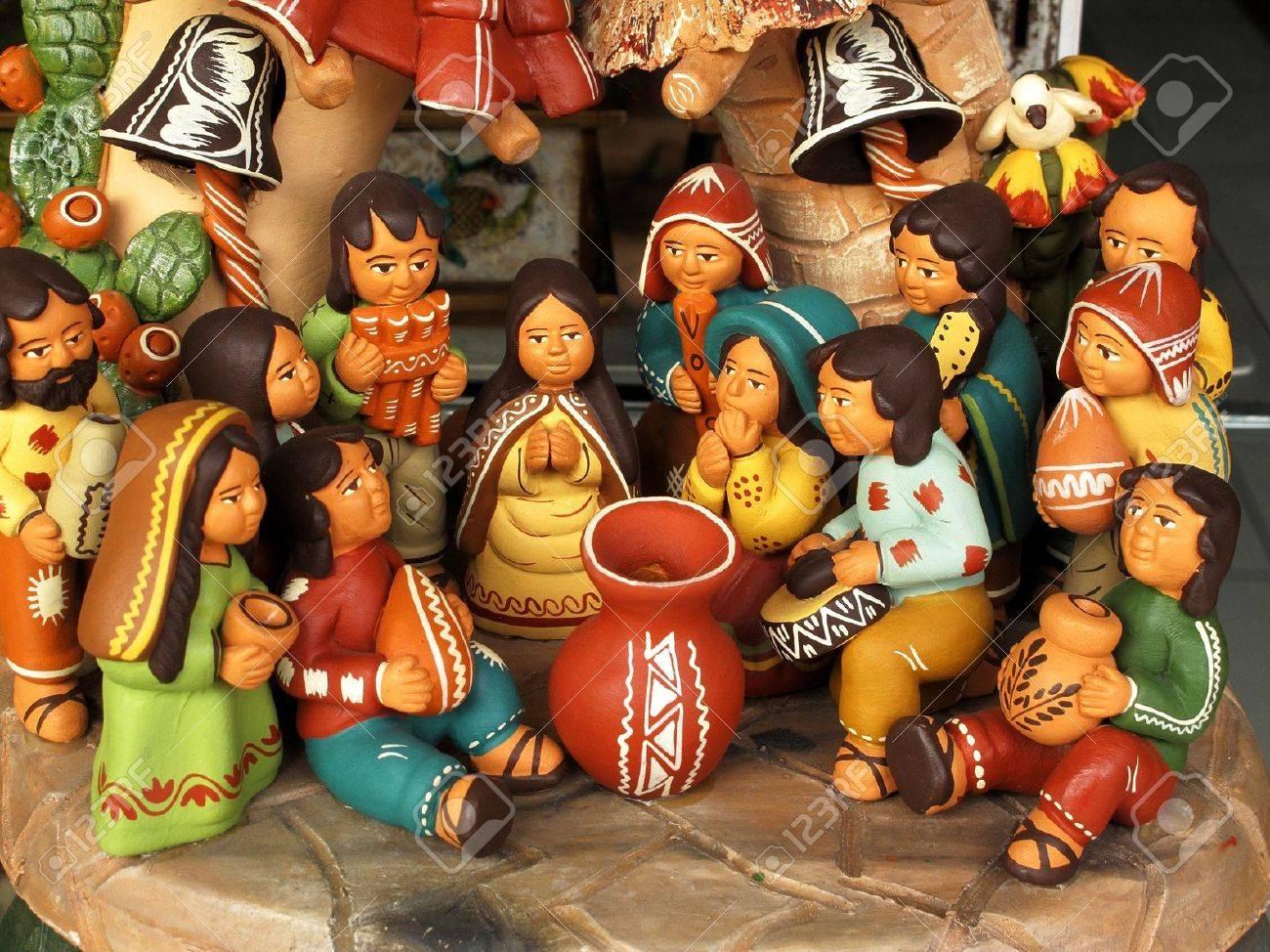 Ancient ceramic sculptures Stock Photo - 11172053