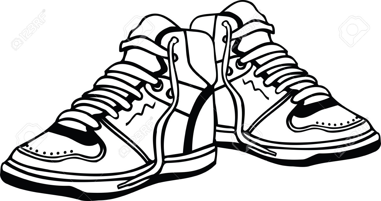 sport shoes illustration royalty free cliparts vectors and stock rh 123rf com vector sports 3/4 helmet victor shoes sh8500d