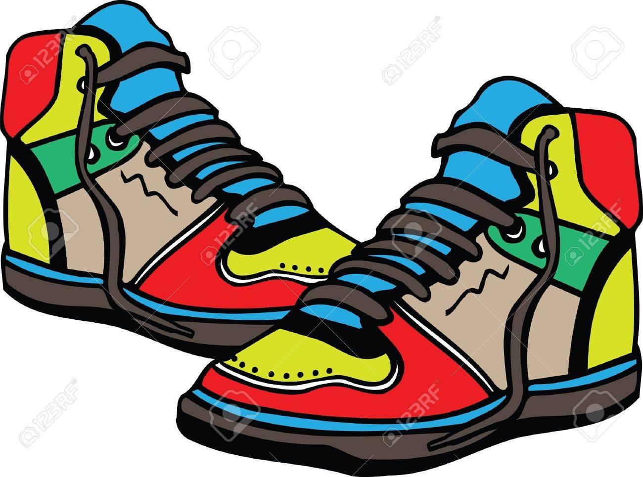 Les chaussures de sport illustration Banque d'images - 15689704
