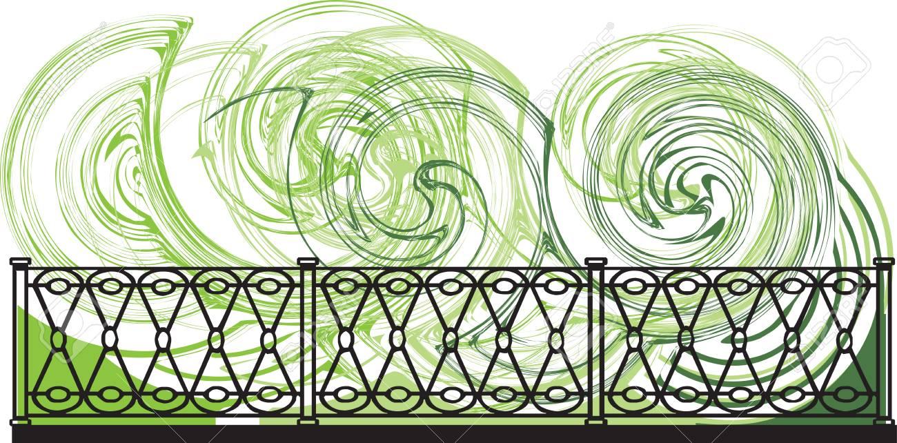 Decorative lattice illustration Stock Vector - 16762900