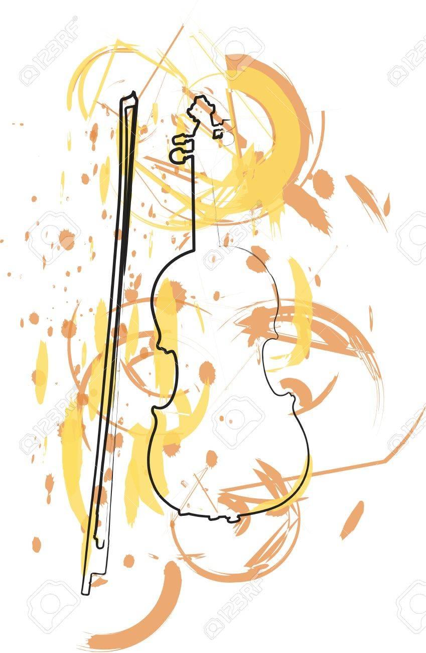 instrument de musique abstraite Banque d'images - 18172669
