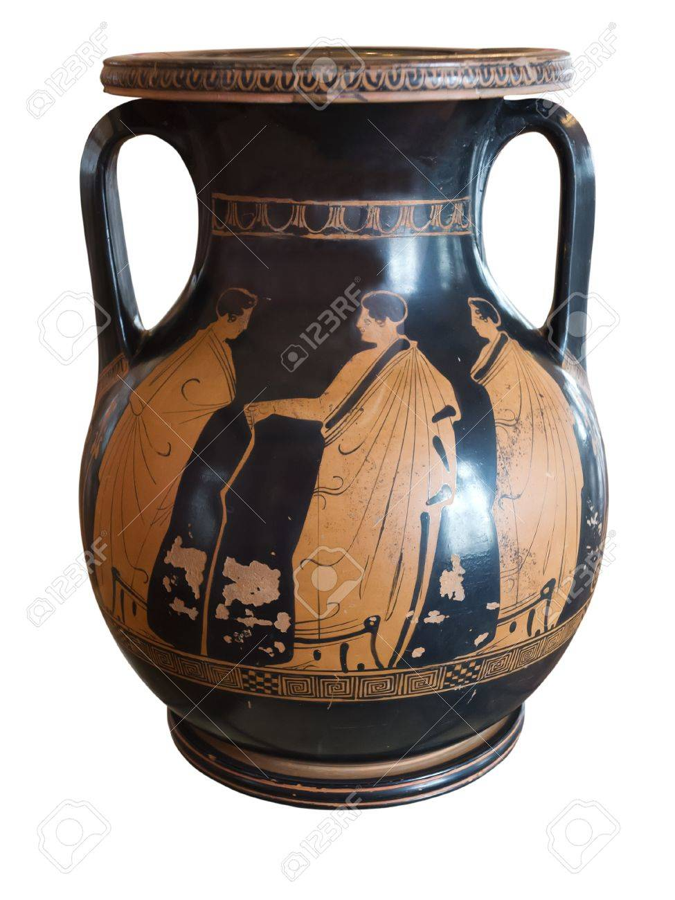 Ancient greek vase exposed in a museum stock photo picture and ancient greek vase exposed in a museum stock photo 20962995 reviewsmspy