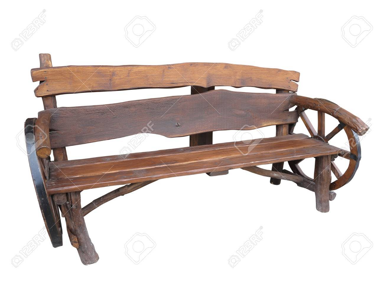 Cart Wheel Bench Bench With Cart Wheel