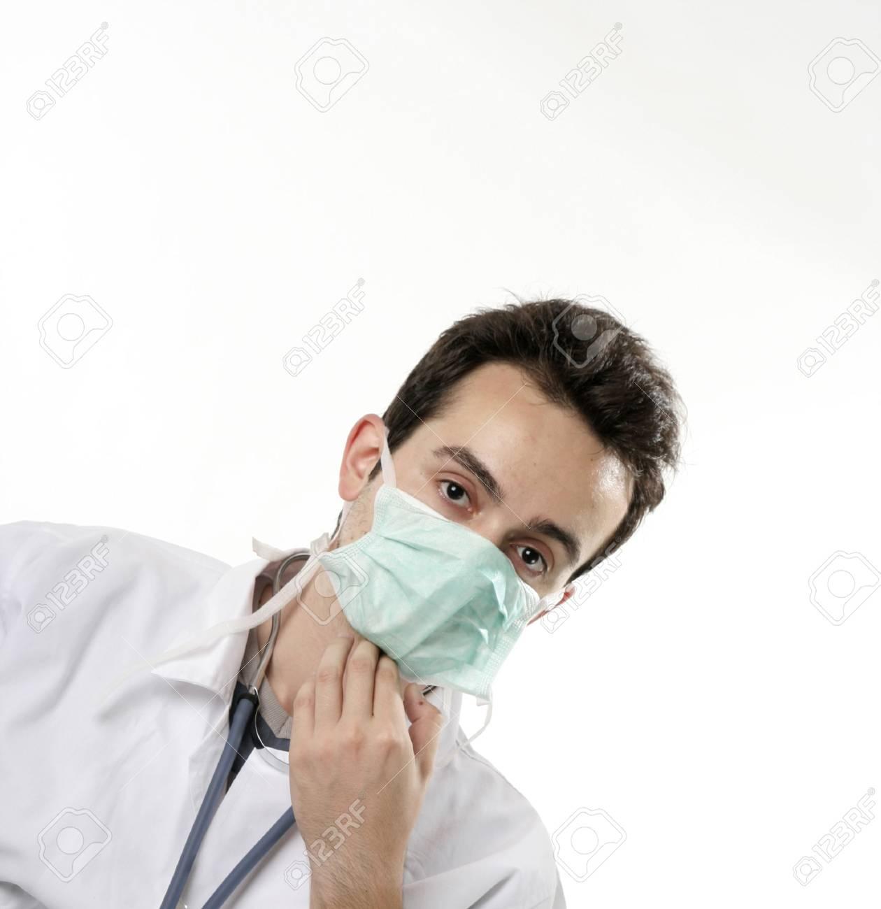 Closeup portrait of a doctor. Stock Photo - 5226847