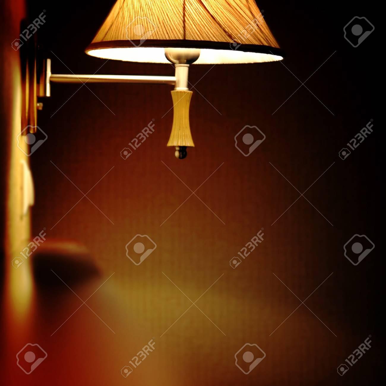 Blur picyure of an orange lamp. Stock Photo - 7869081