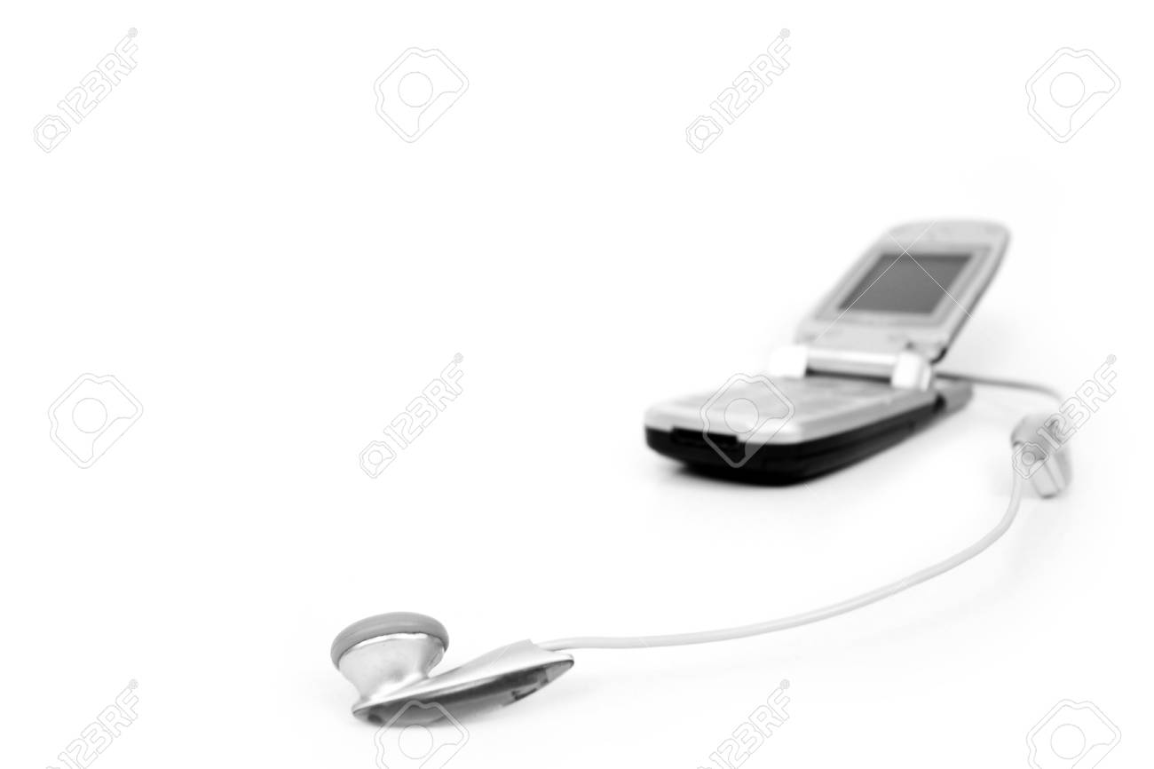 Cell phone isolated on white Stock Photo - 8974517