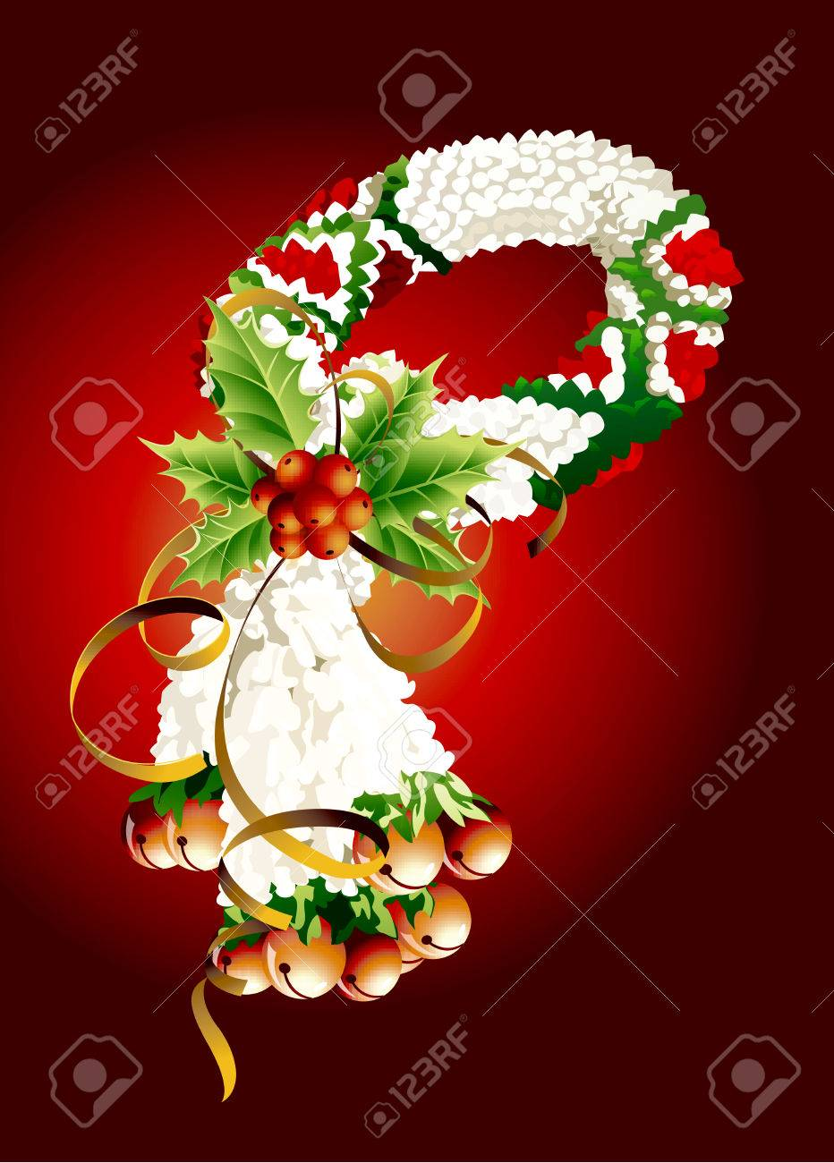 An Illustration Of Beautiful Flower Garland With White Jasmine