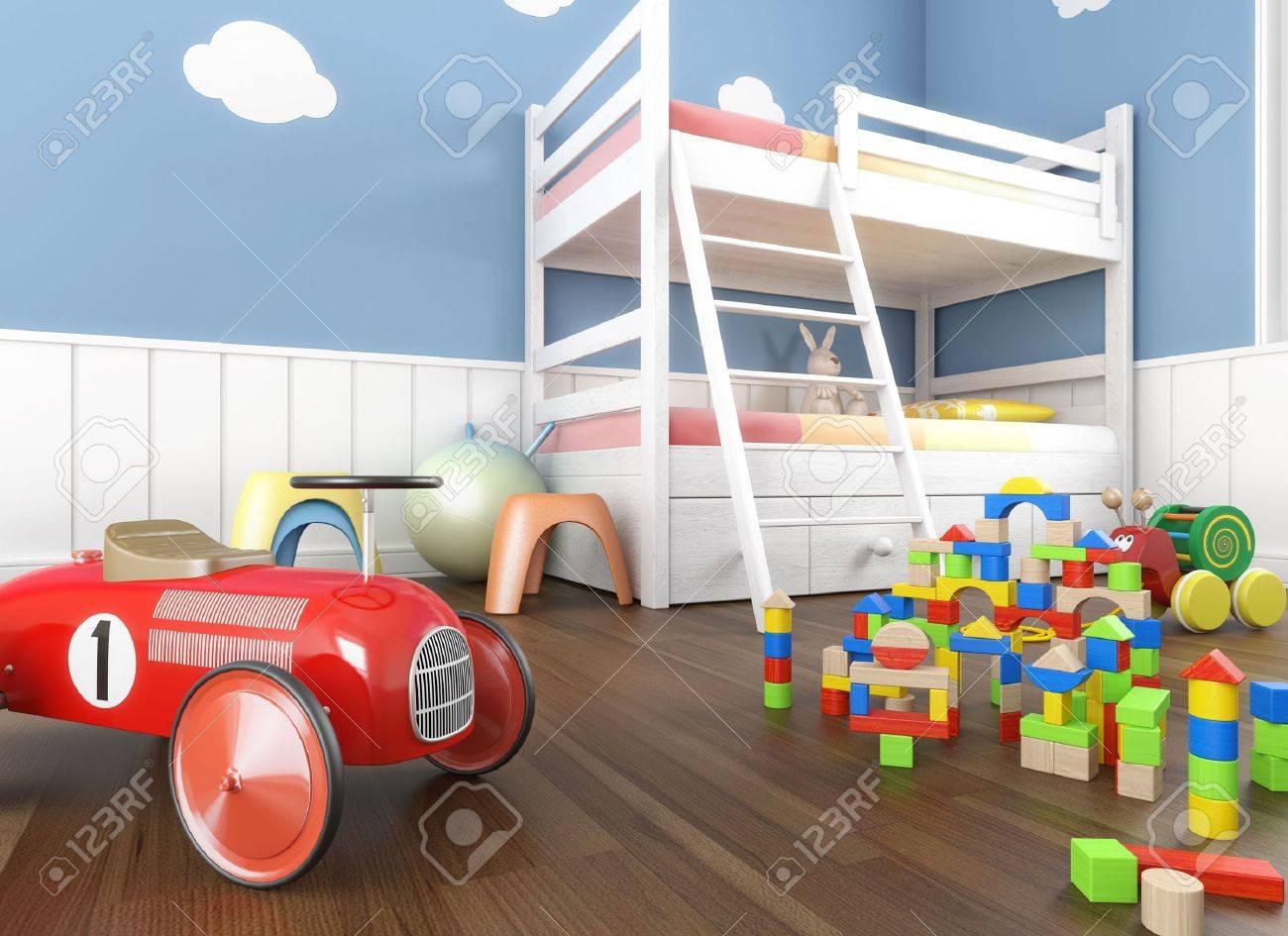 colori pareti camere bambini: vovell.com letti a soppalco per ... - Decorazioni Pareti Orsetti