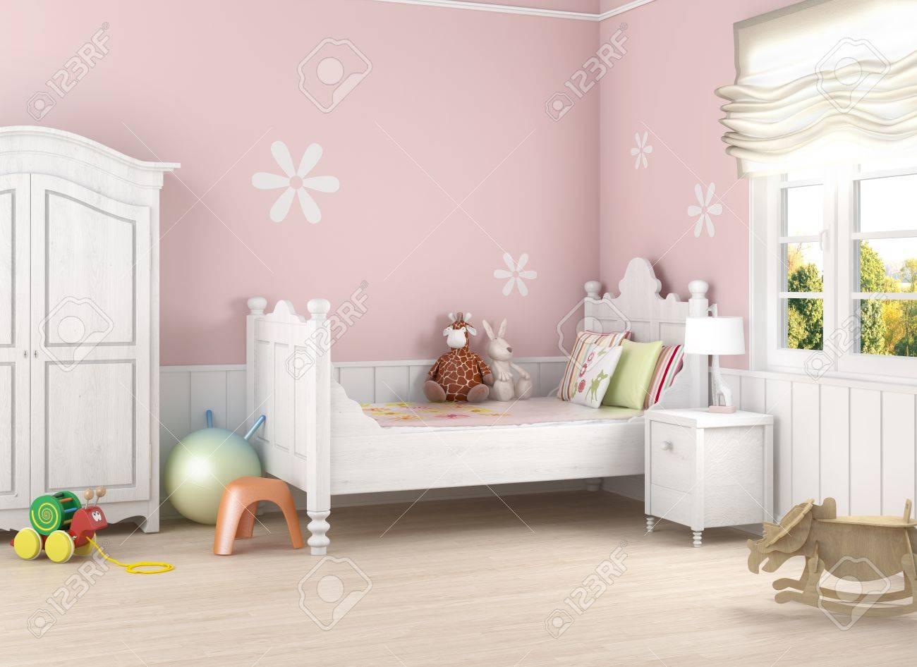 girl�s bedroom 2(0).jpg Stock Photo - 8350438