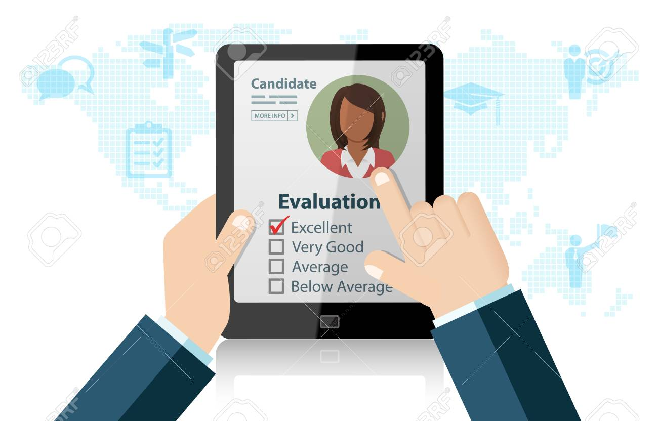 Human Resources Recruitment And Hiring Right Candidate Evaluation