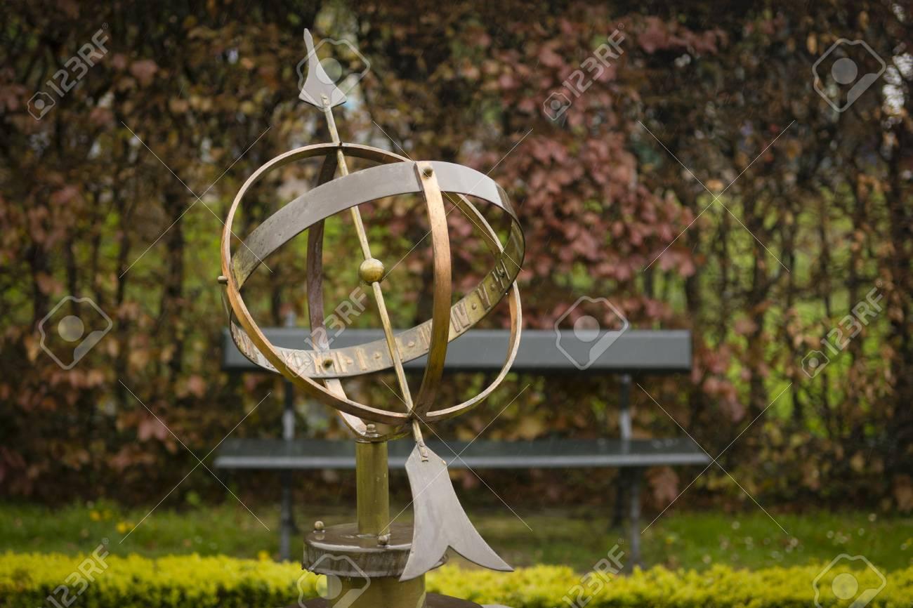 Garden Of The Sundial In Zaanse Schans, Zaandam, Amsterdam ...