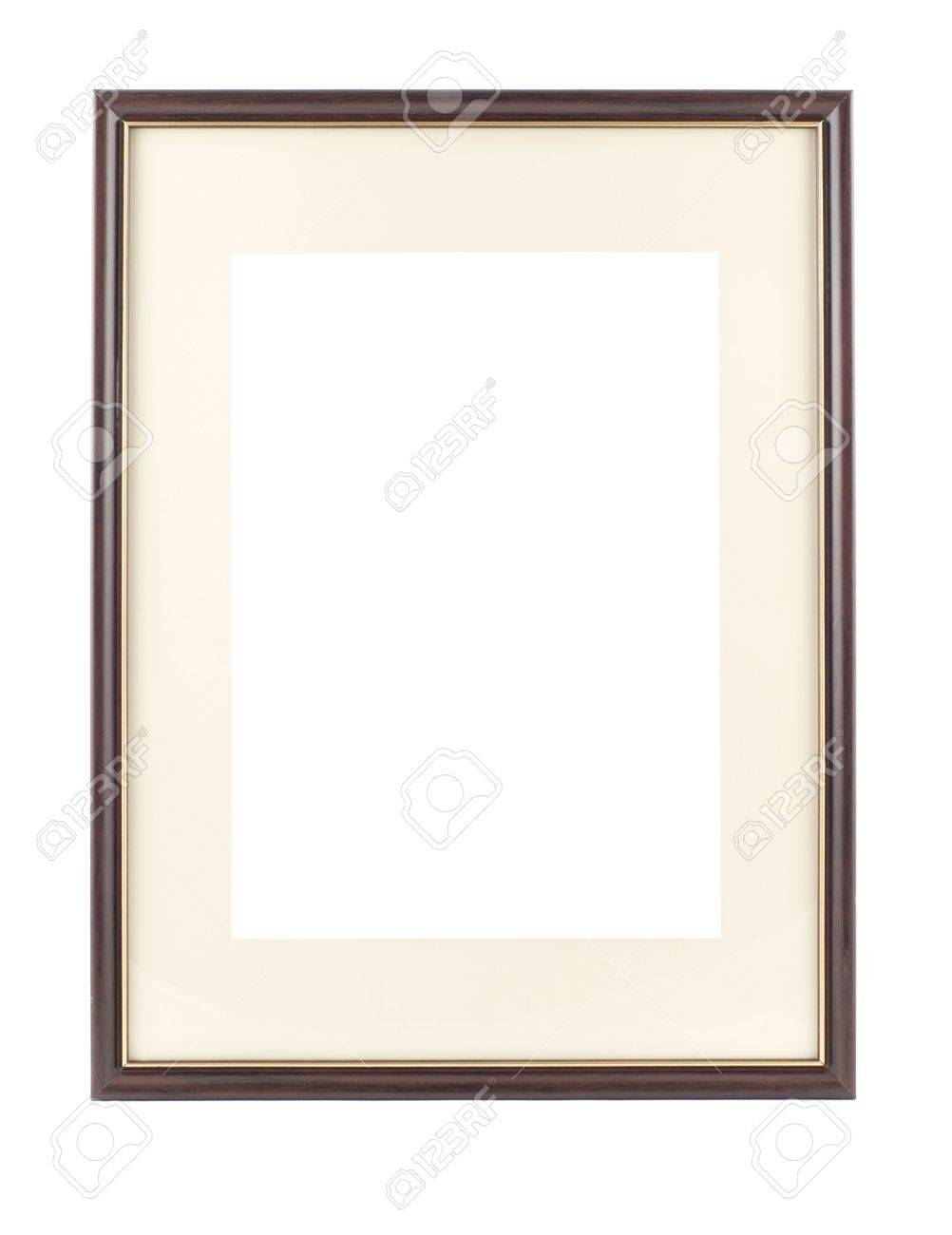 Empty frame for picture or portrait isolated Stock Photo - 6615895