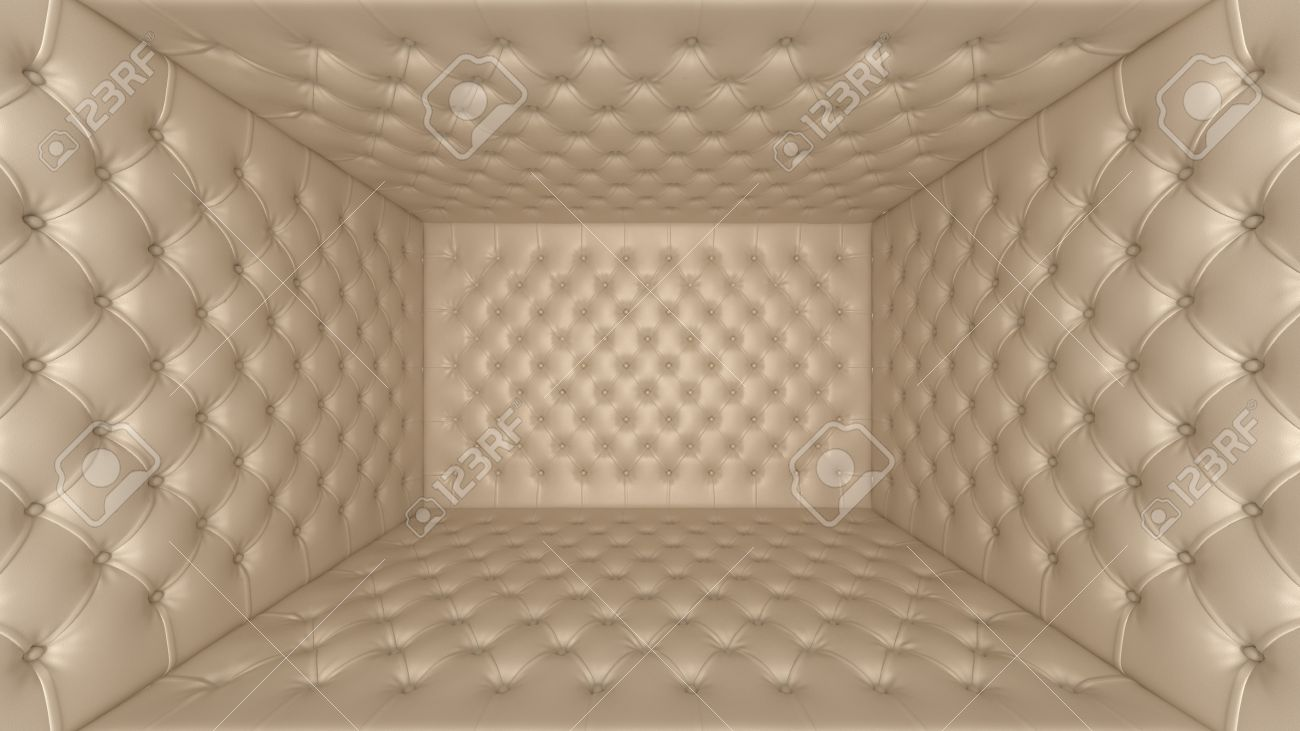 Isolation and segregation: Soft room concept with wide-angle effect Stock Photo - 8576869