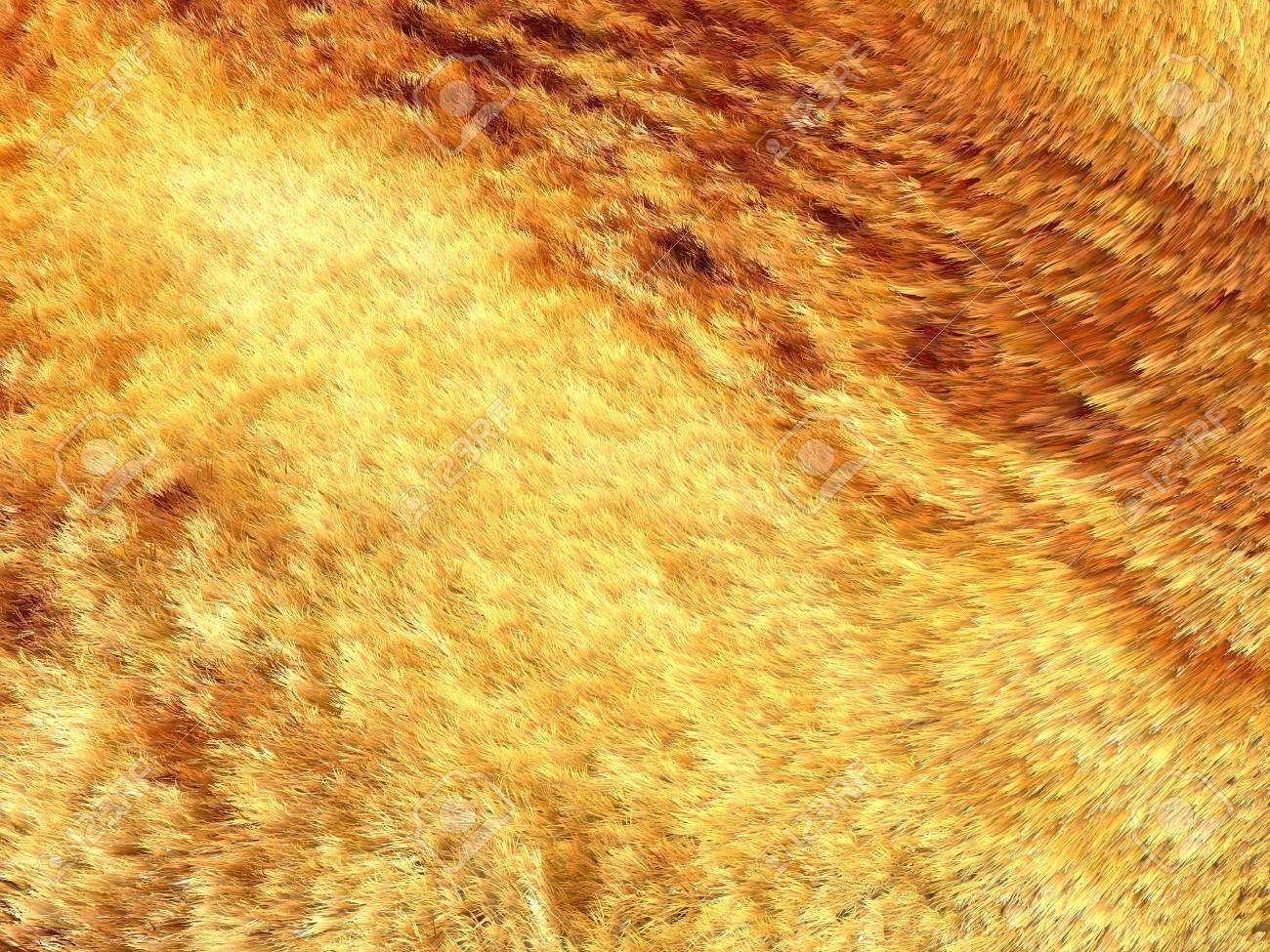 Yellow and brown fox fur pattern or background. Useful for fashion Stock Photo - 17574658